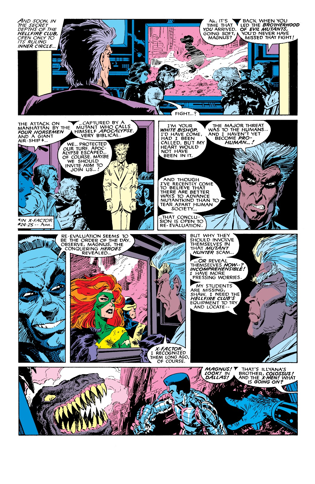 Read online X-Men Milestones: Fall of the Mutants comic -  Issue # TPB (Part 2) - 65