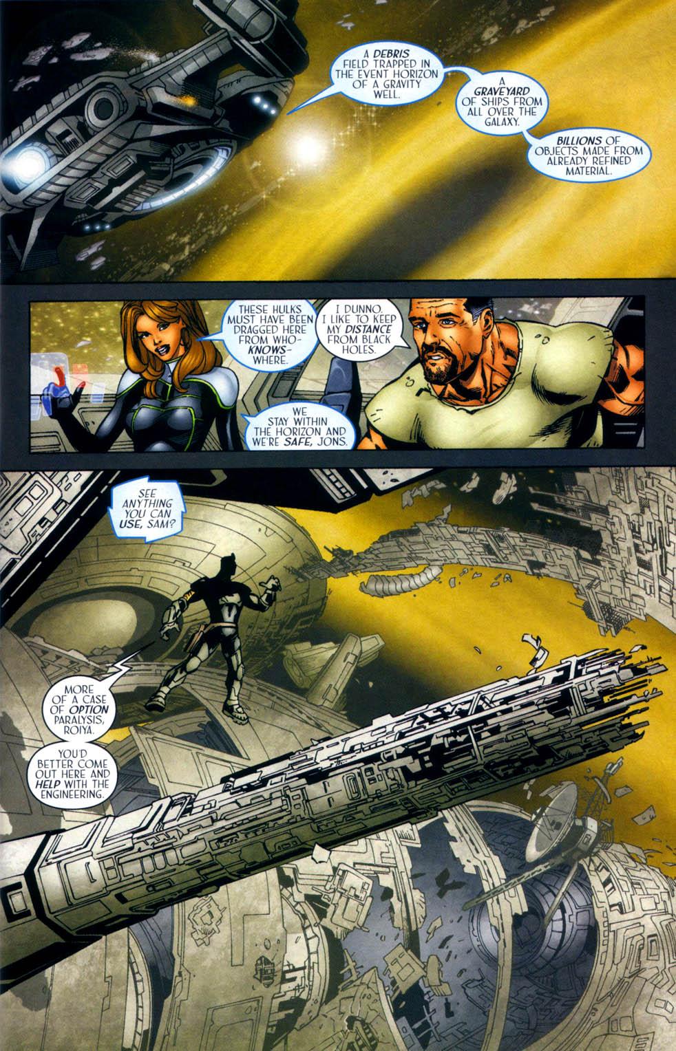 Read online Sigil (2000) comic -  Issue #33 - 10