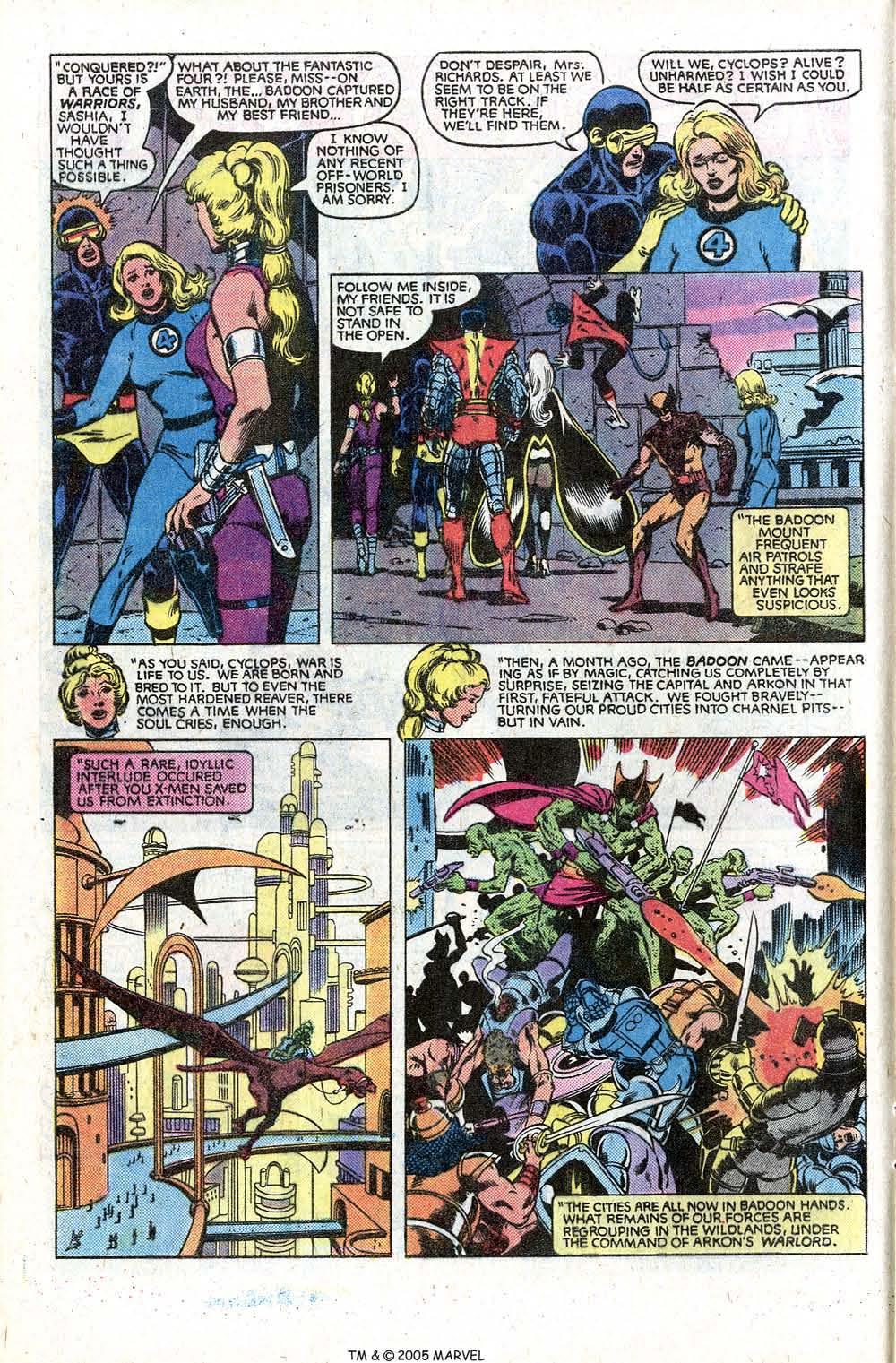 Read online Uncanny X-Men (1963) comic -  Issue # _Annual 5 - 20