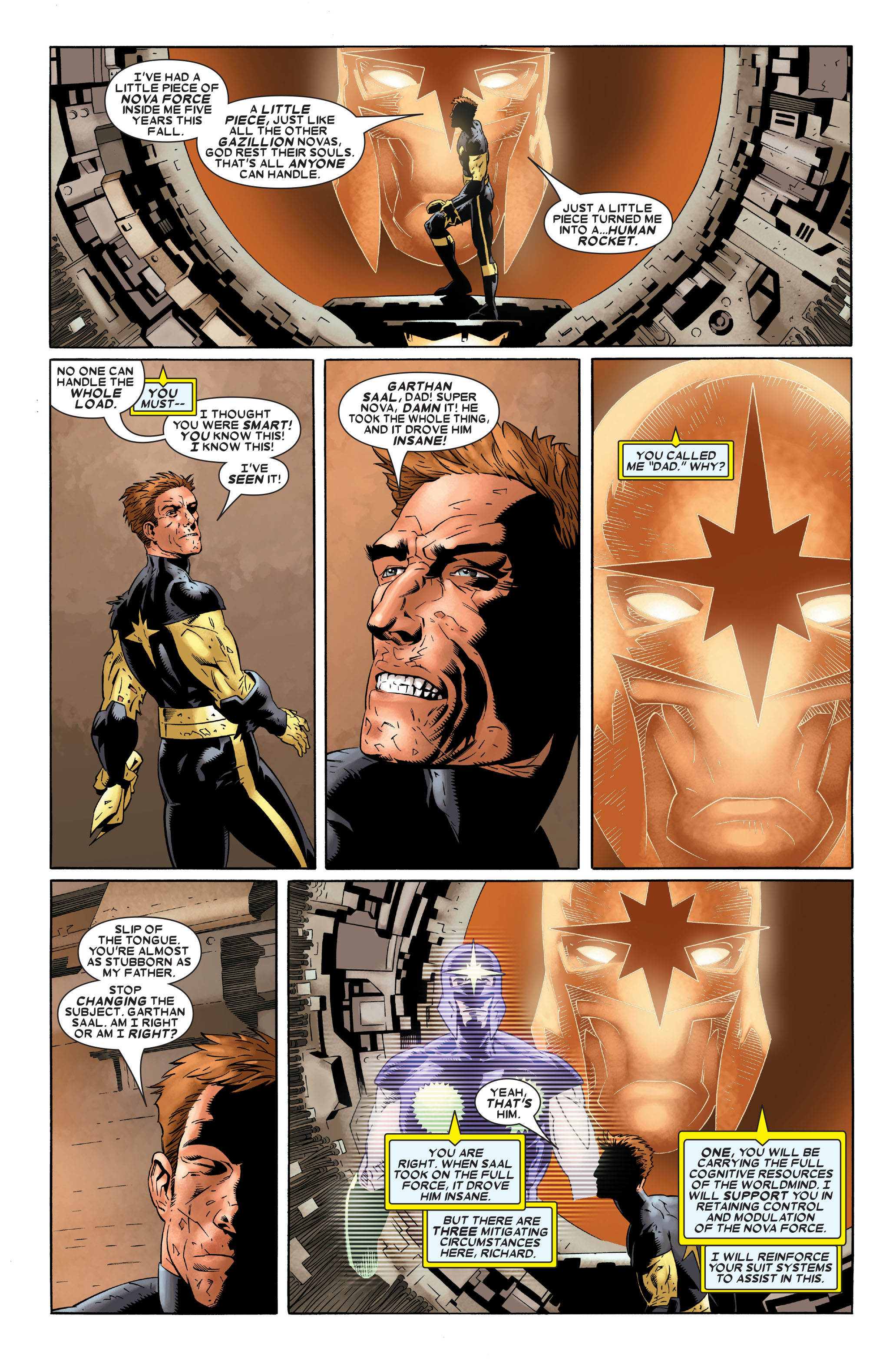 Read online Annihilation: Nova comic -  Issue #1 - 15