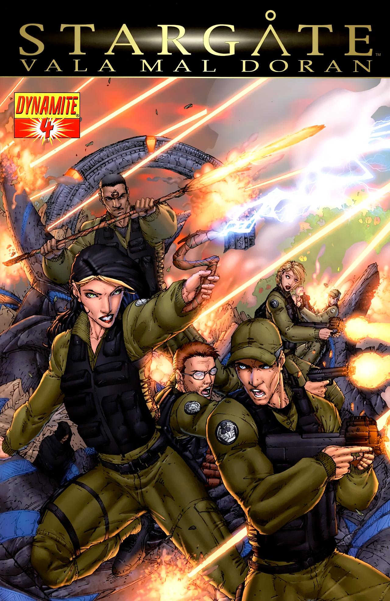 Read online Stargate Vala Mal Doran comic -  Issue #4 - 1