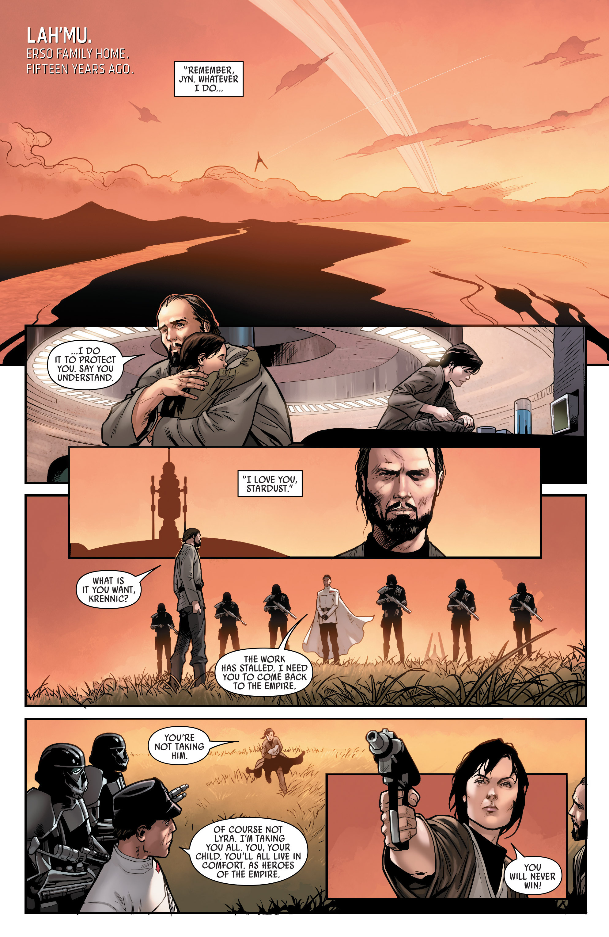 Read online Star Wars: Rogue One Adaptation comic -  Issue #1 - 3