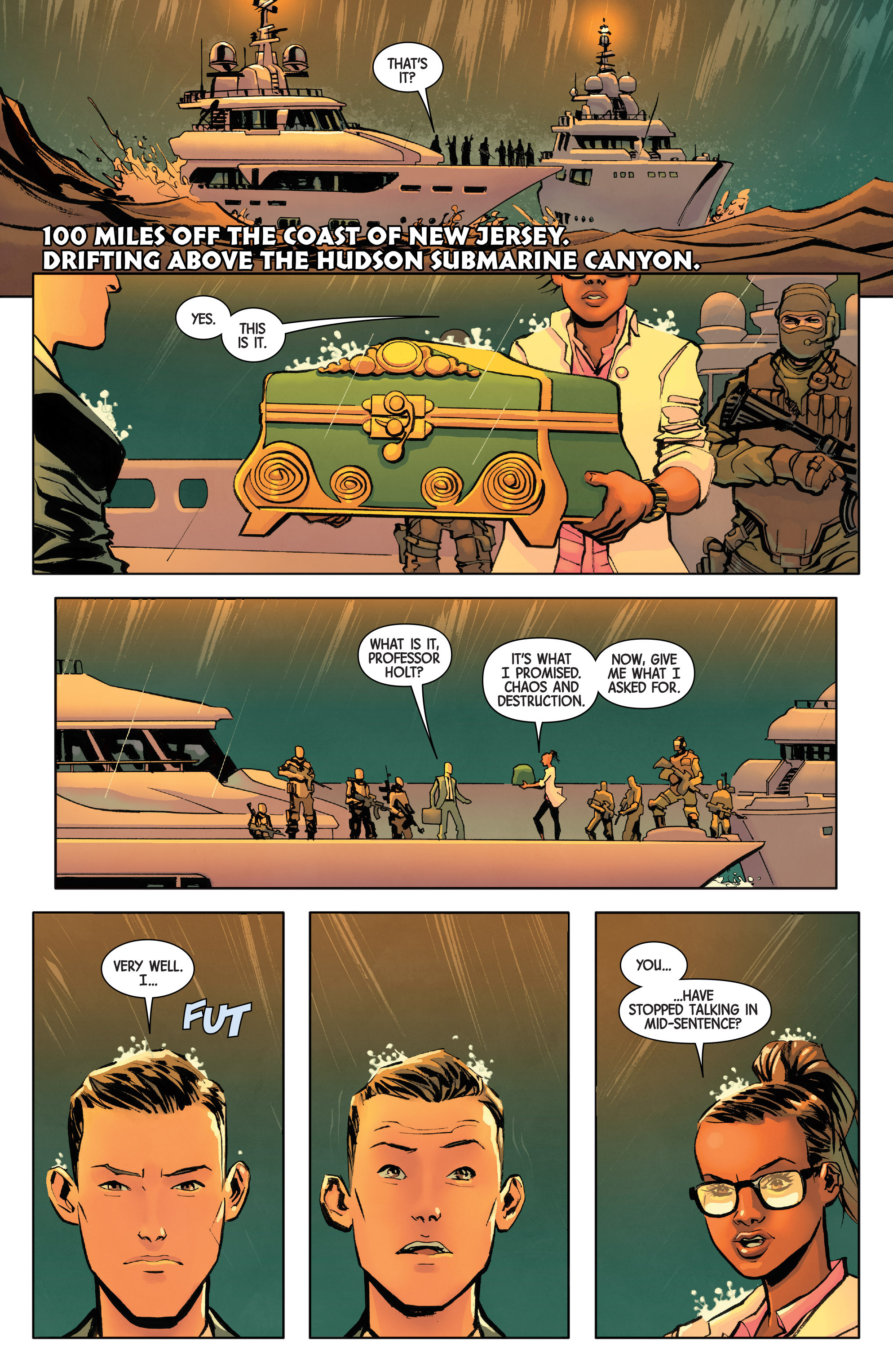 Read online All-New Wolverine (2016) comic -  Issue #8 - 3