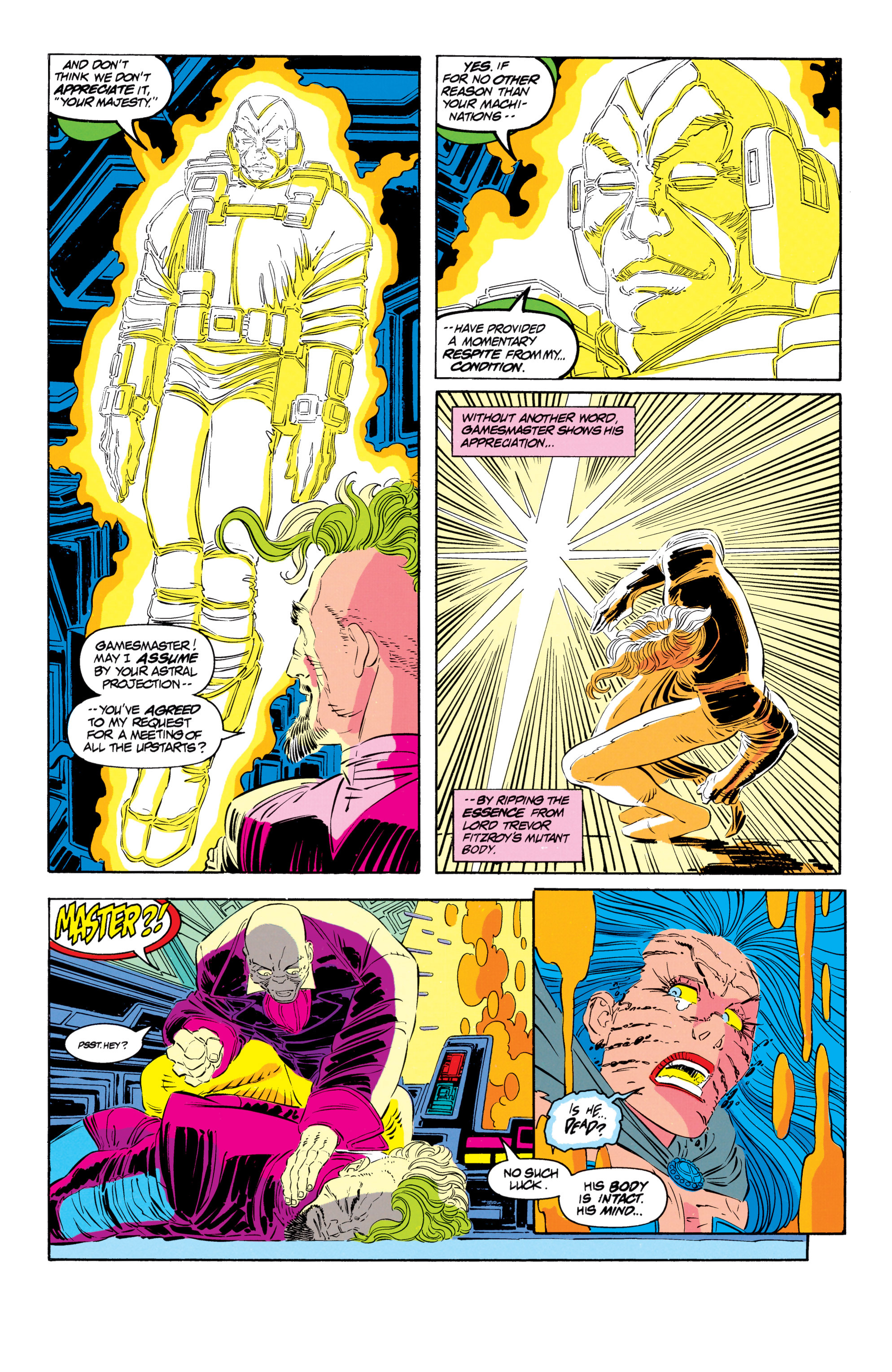 Read online Uncanny X-Men (1963) comic -  Issue #301 - 4