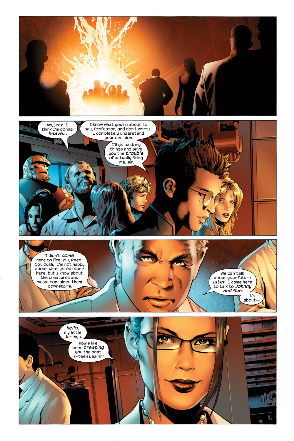 Read online Ultimate Fantastic Four (2004) comic -  Issue #23 - 23