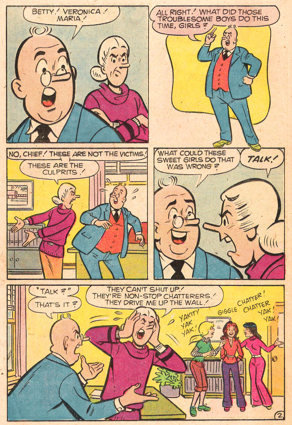 Read online Archie's Girls Betty and Veronica comic -  Issue #276 - 14