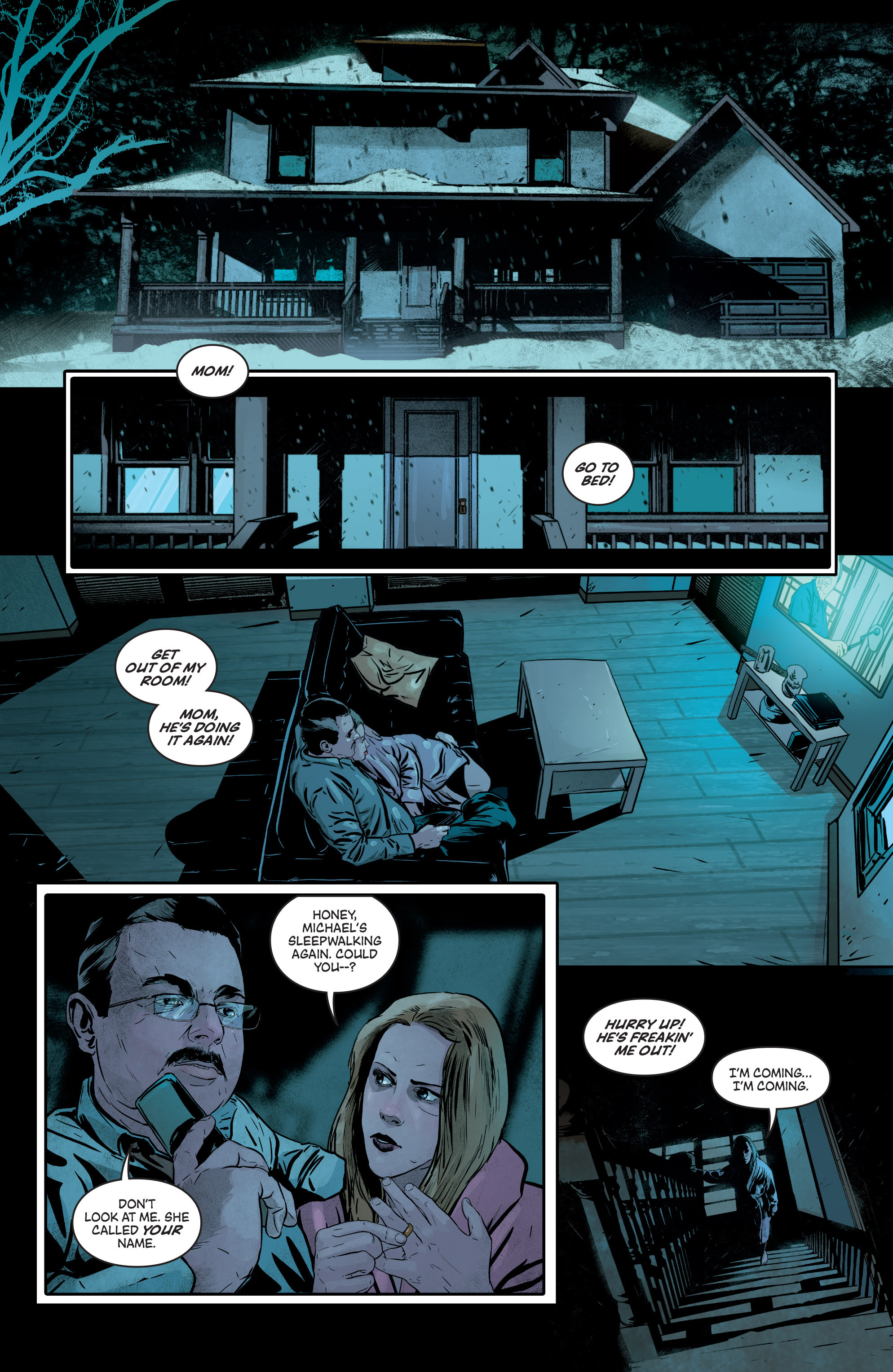 Read online Second Sight comic -  Issue #3 - 26
