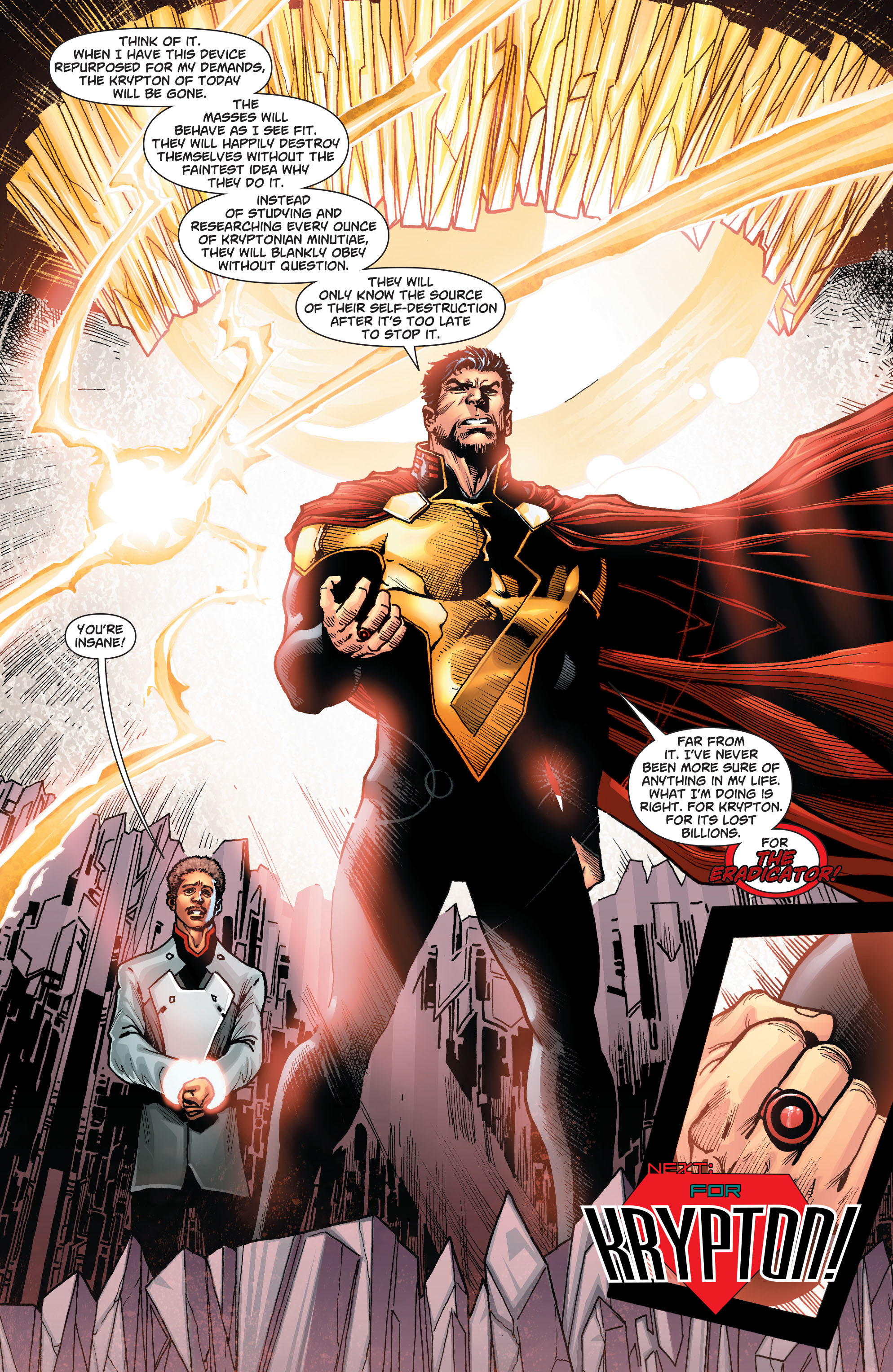 Read online Action Comics (2011) comic -  Issue #22 - 25
