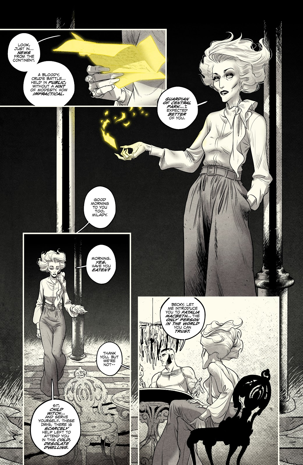 Read online Nomen Omen comic -  Issue #3 - 26