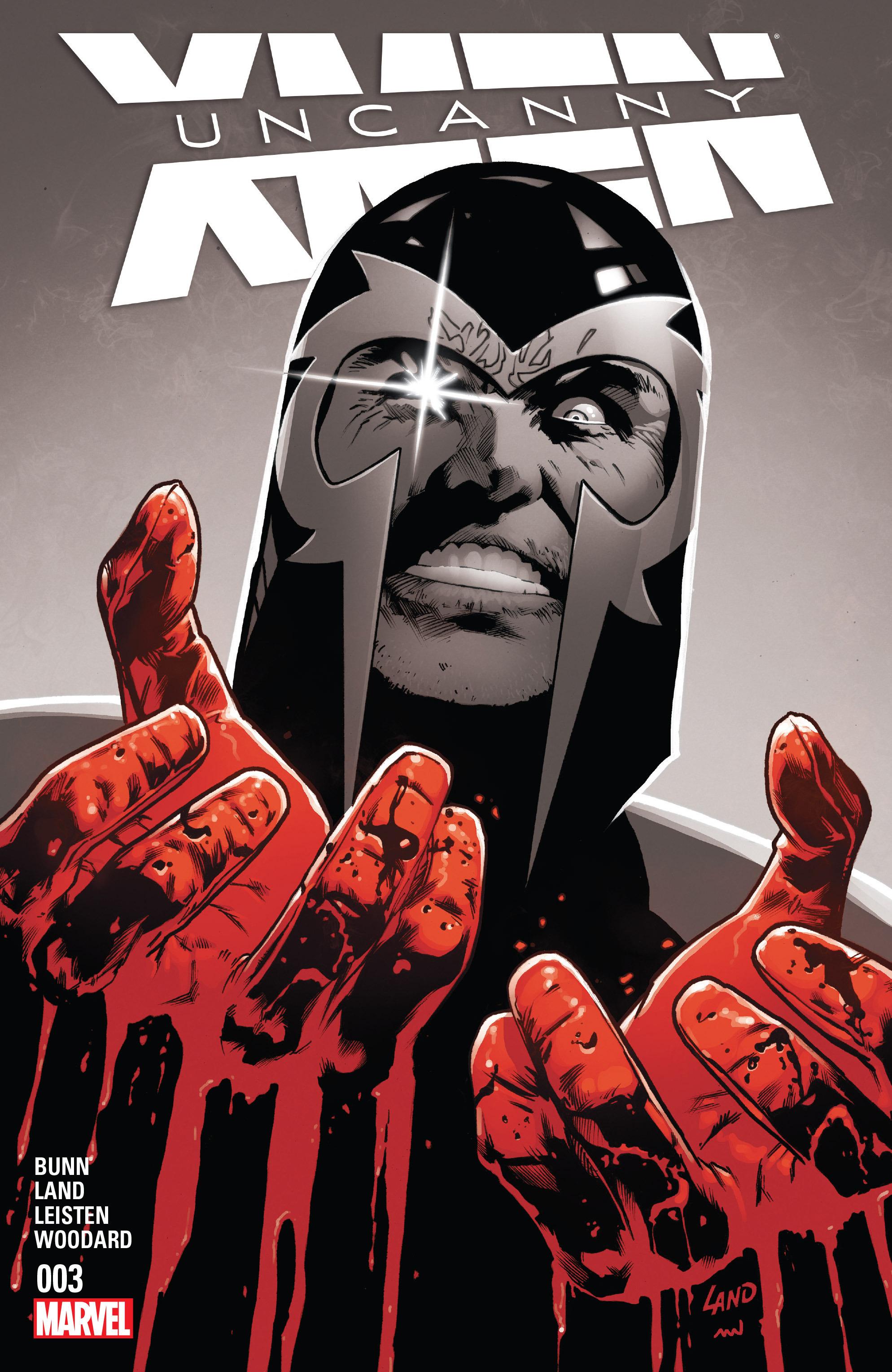 Read online Uncanny X-Men (2016) comic -  Issue #3 - 1