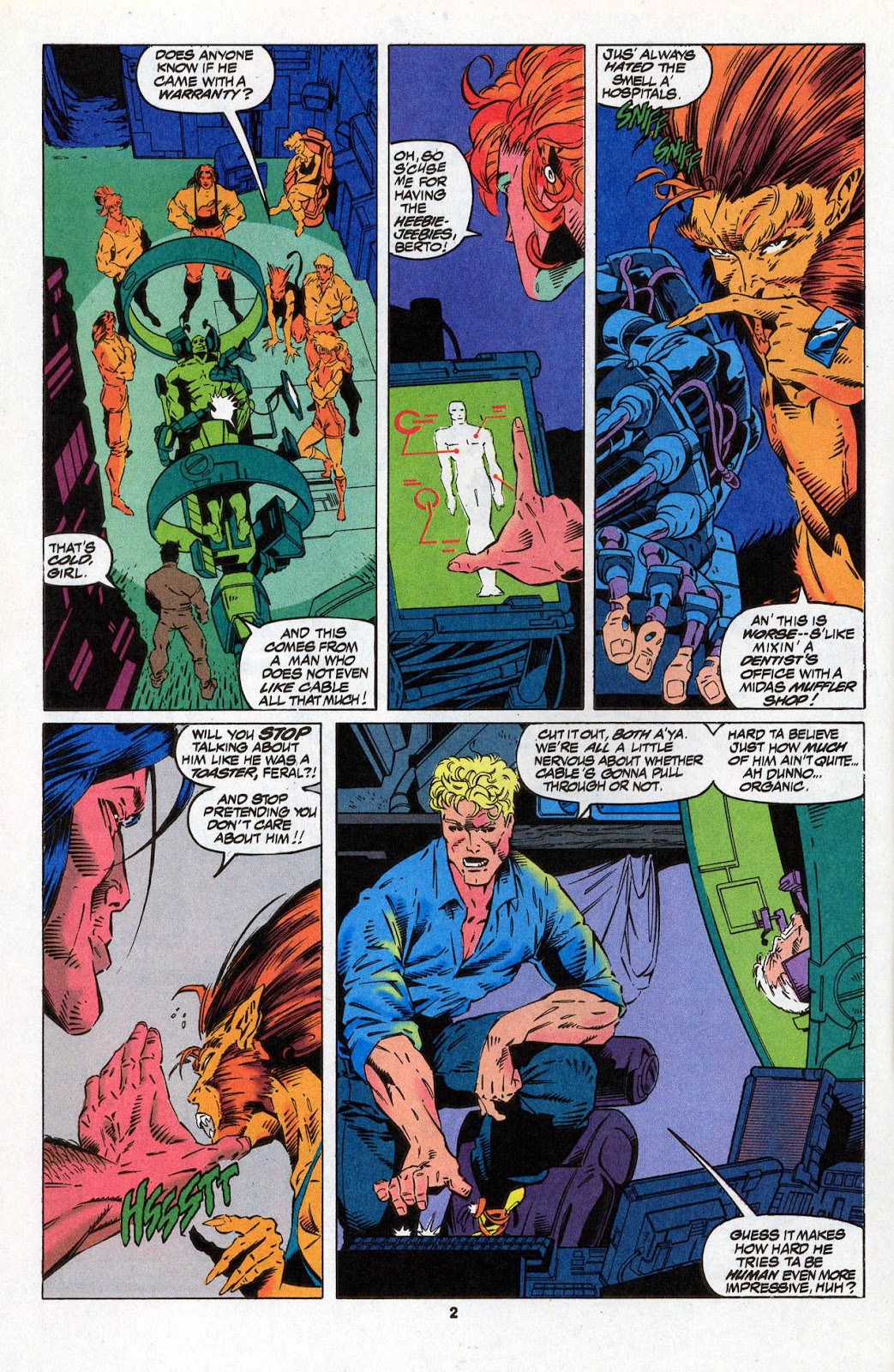 X-Force (1991) Issue #26 #31 - English 4