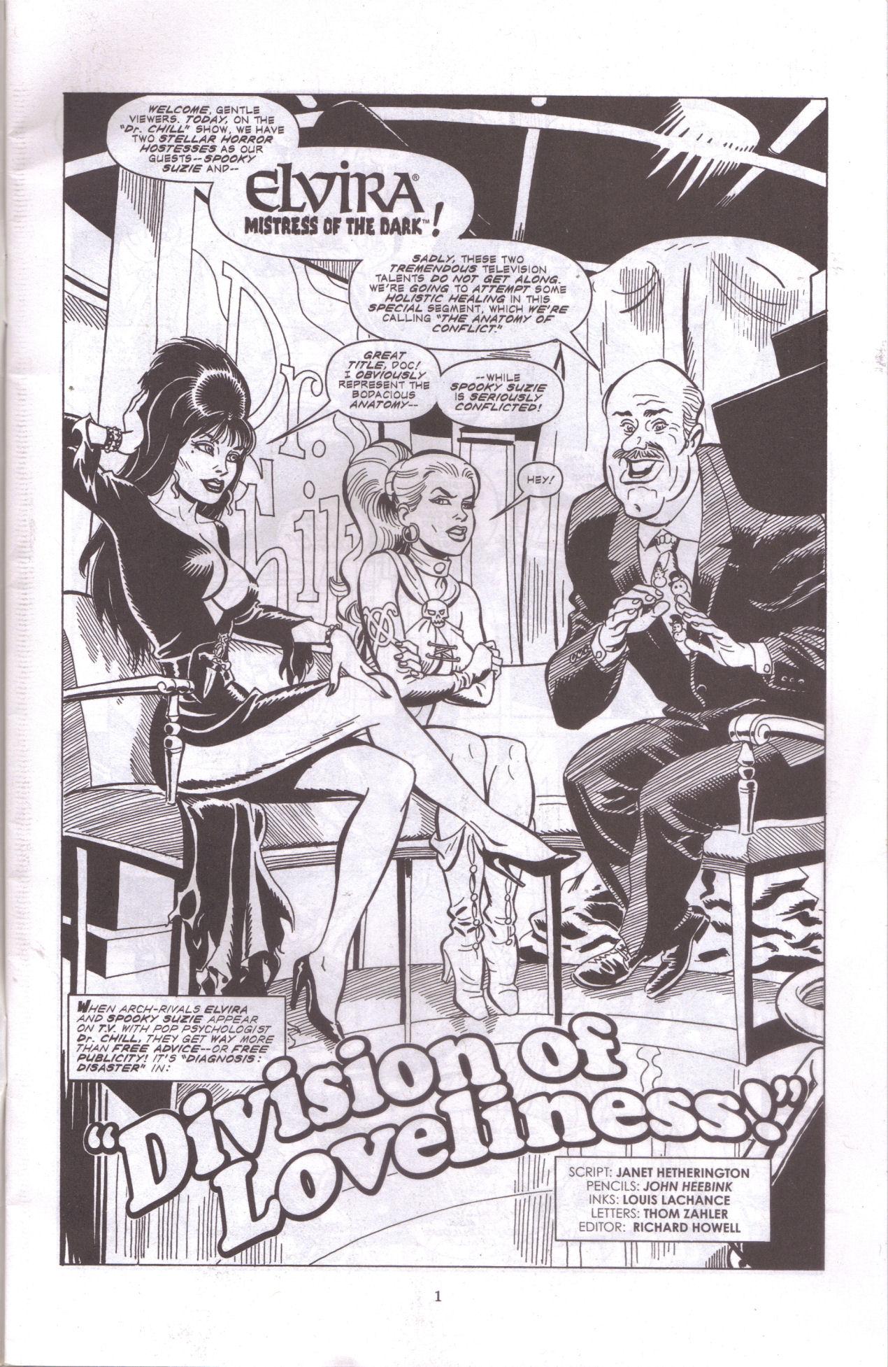 Read online Elvira, Mistress of the Dark comic -  Issue #159 - 3