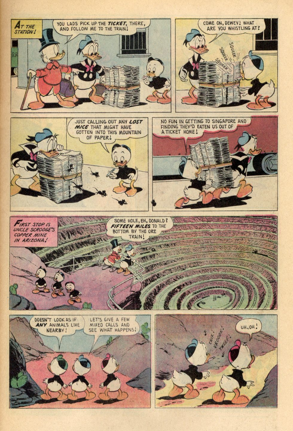 Read online Uncle Scrooge (1953) comic -  Issue #108 - 5