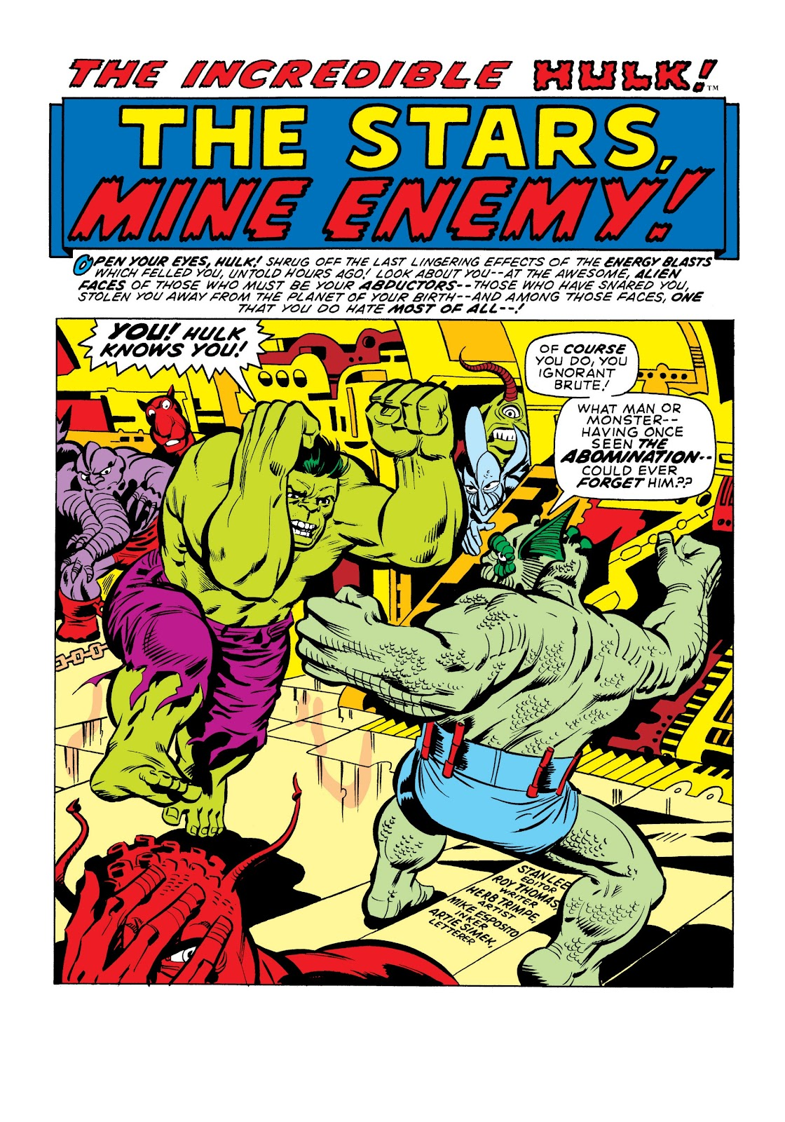 Read online Marvel Masterworks: The Incredible Hulk comic -  Issue # TPB 7 (Part 1) - 48