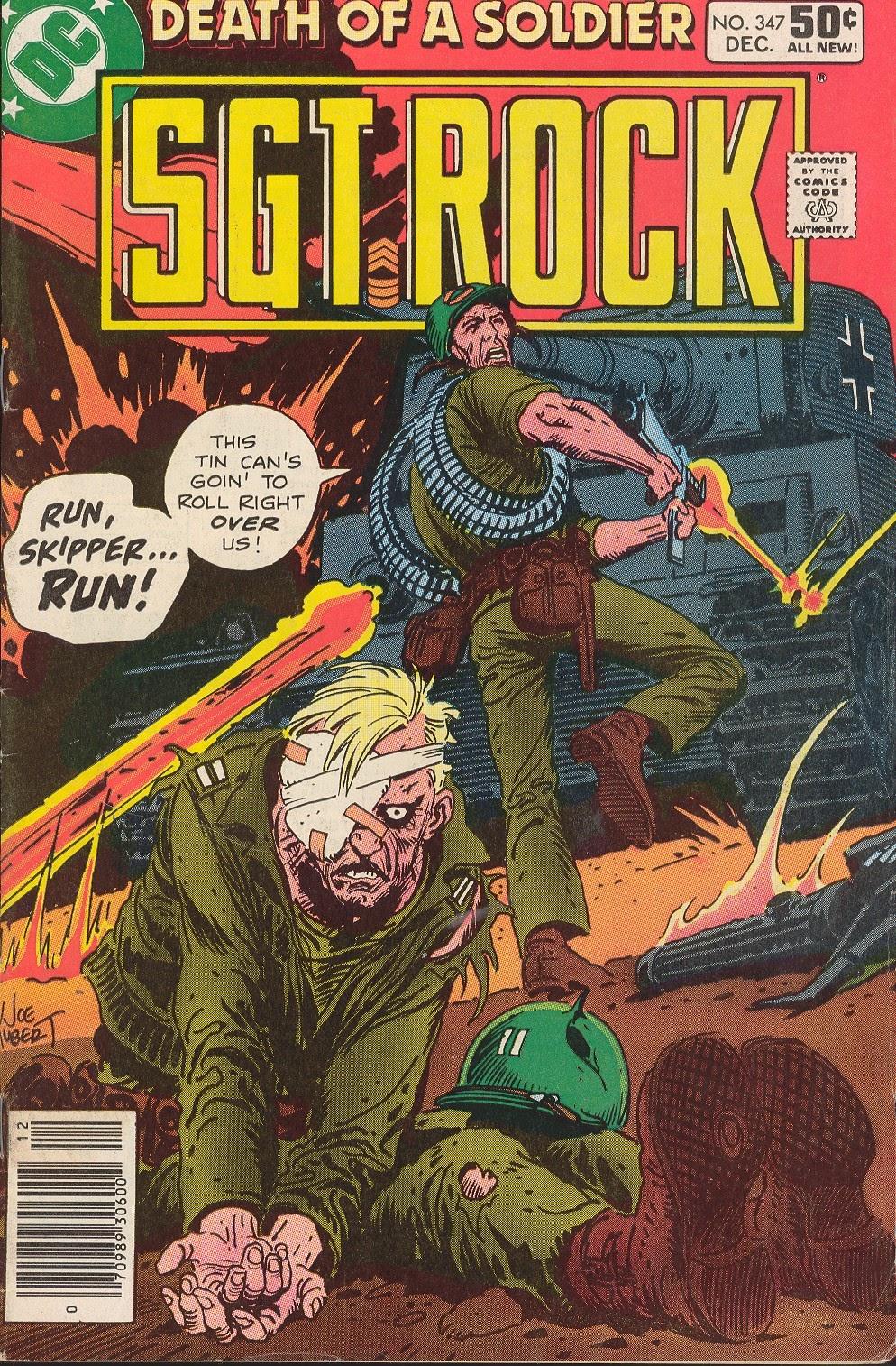 Read online Sgt. Rock comic -  Issue #347 - 1