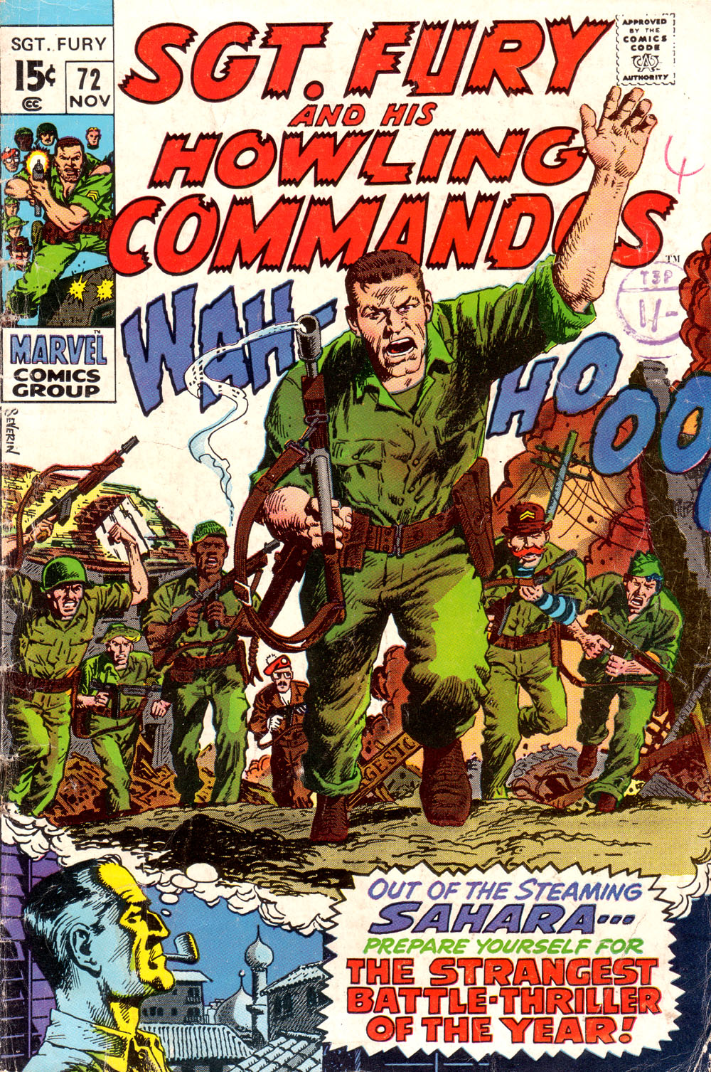 Read online Sgt. Fury comic -  Issue #72 - 1