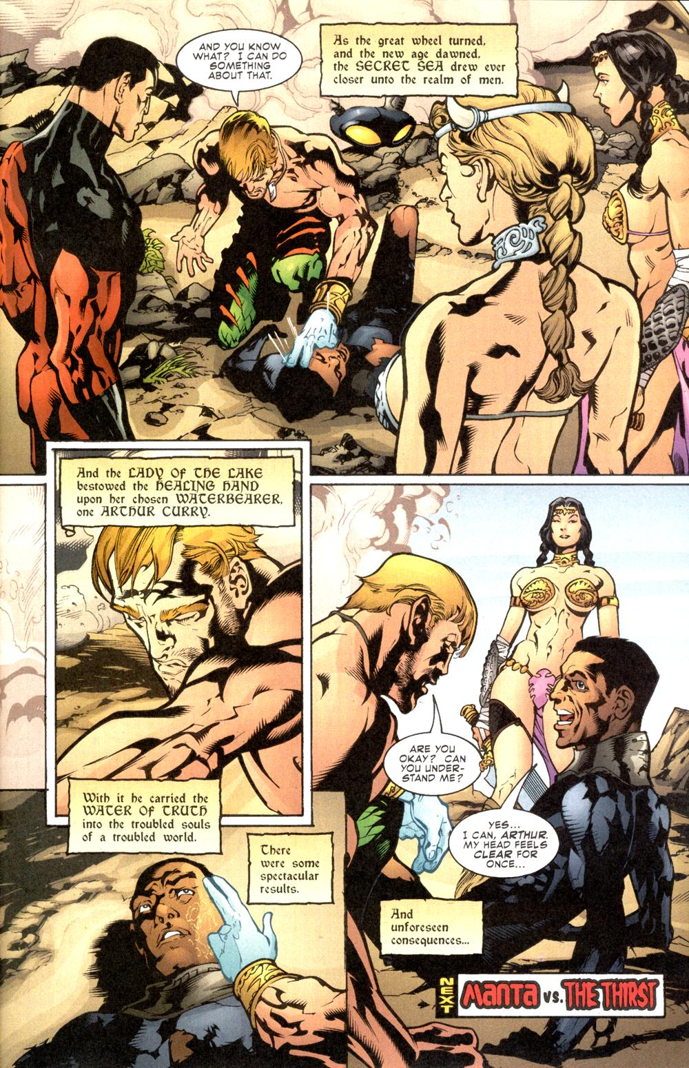 Read online Aquaman (2003) comic -  Issue #8 - 23