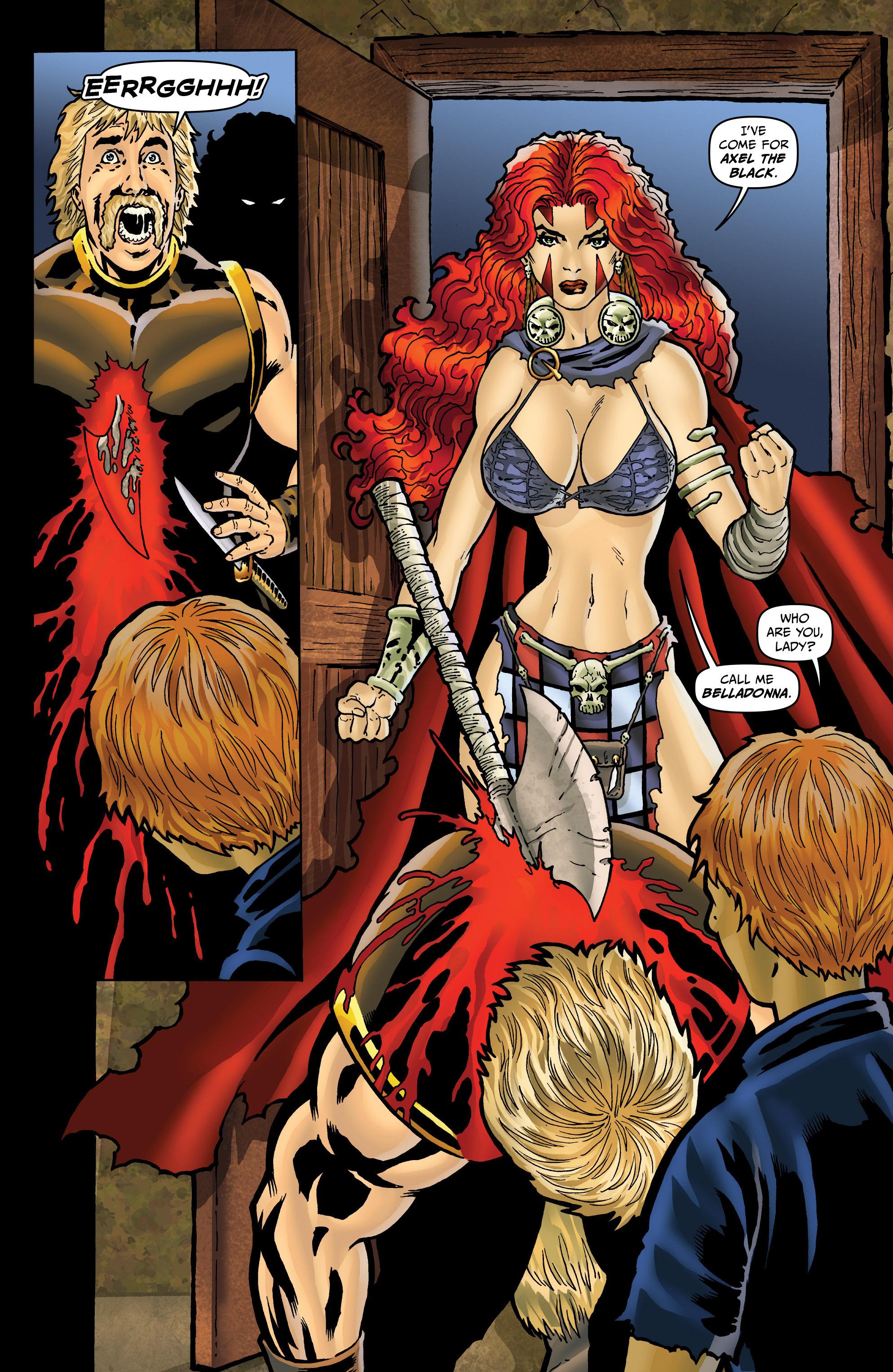 Read online Belladonna: Origins comic -  Issue #4 - 6