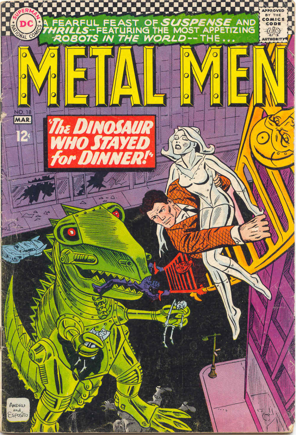 Metal Men (1963) issue 18 - Page 1