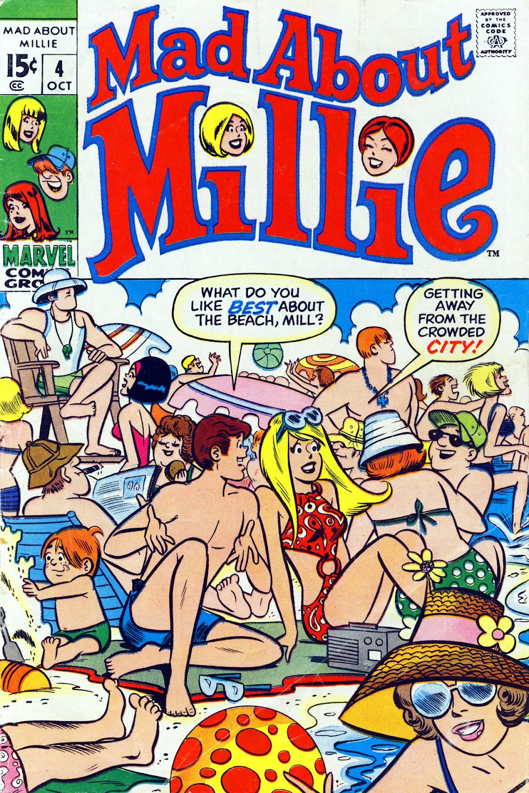 Mad About Millie issue 4 - Page 1