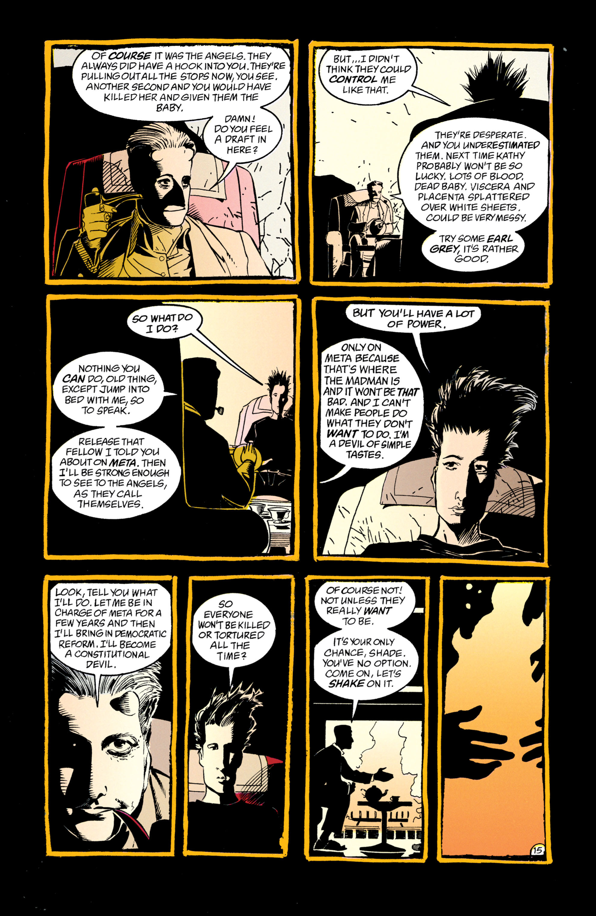 Read online Shade, the Changing Man comic -  Issue #50 - 16