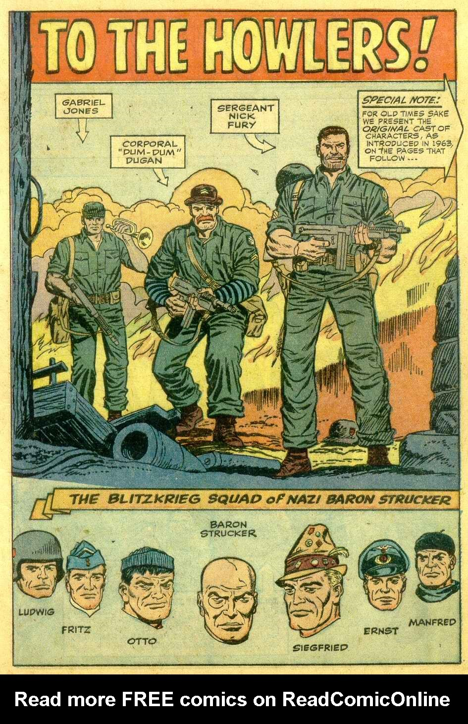 Read online Sgt. Fury comic -  Issue # _Annual 1 - 19
