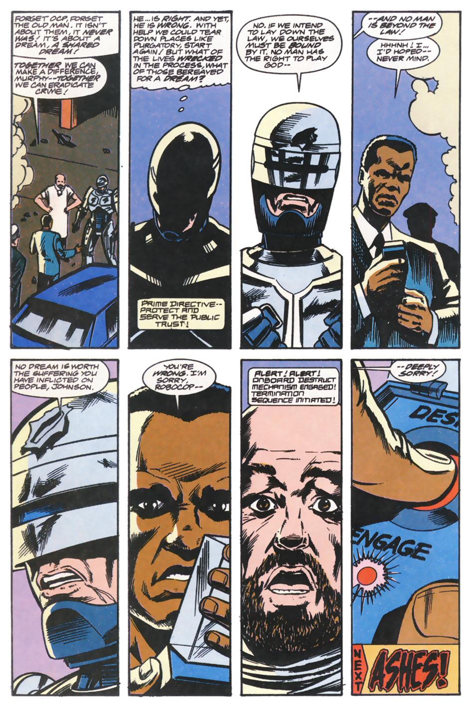 Read online Robocop (1990) comic -  Issue #14 - 22
