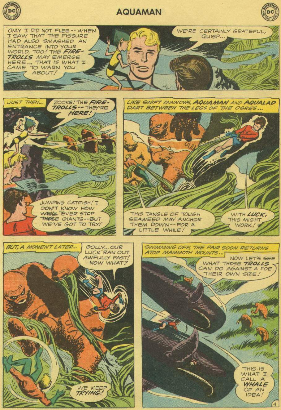 Read online Aquaman (1962) comic -  Issue #1 - 6