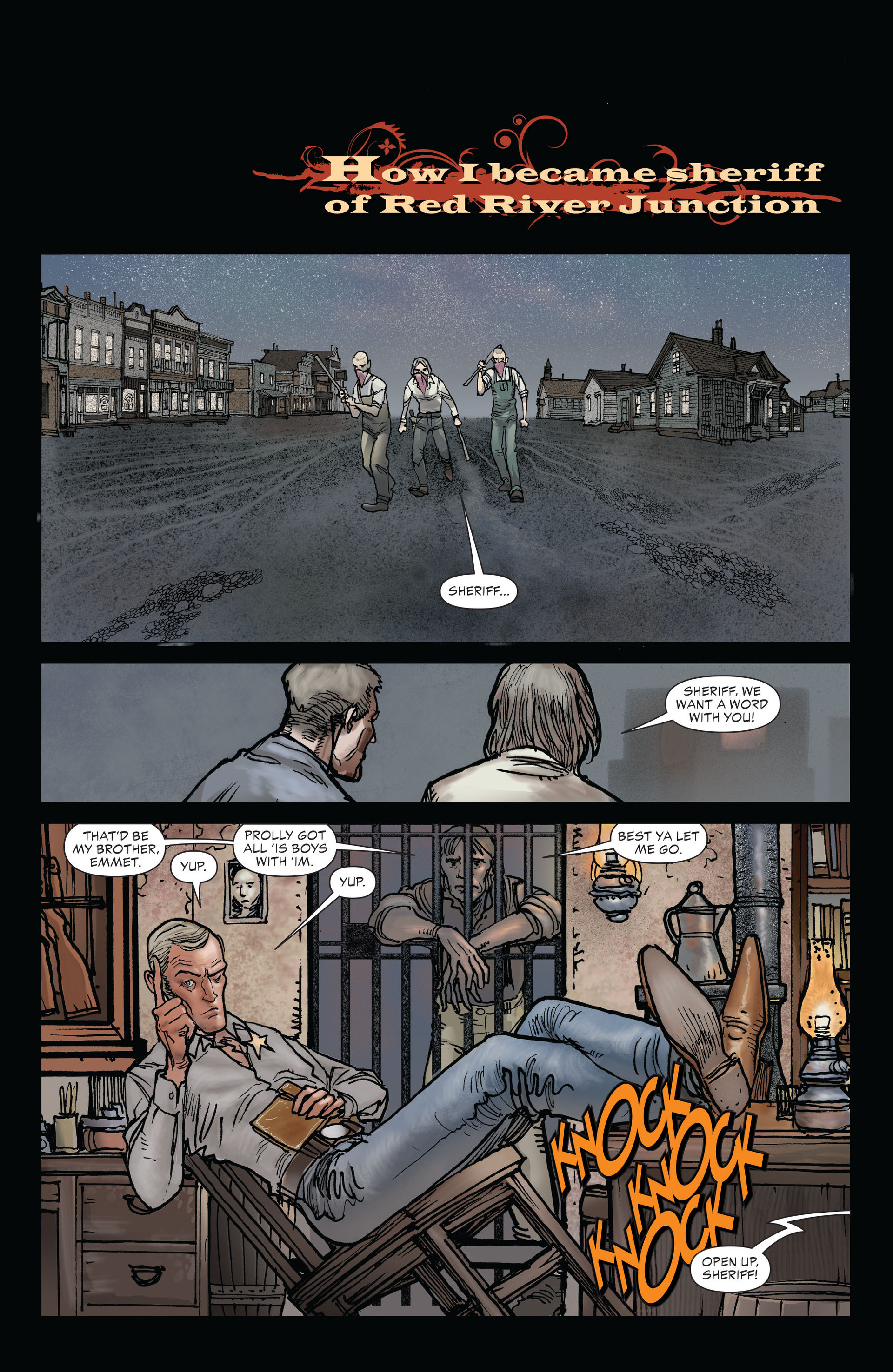 Read online All-Star Western (2011) comic -  Issue #19 - 15