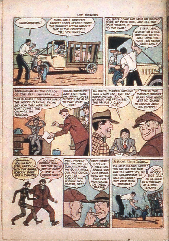 Read online Hit Comics comic -  Issue #37 - 34