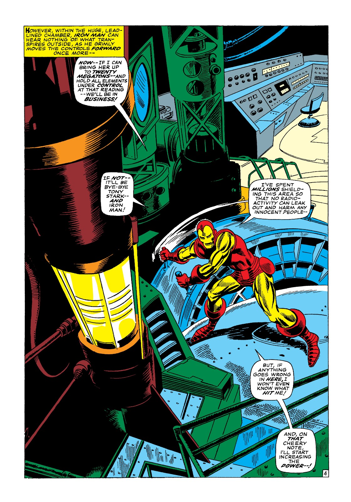 Read online Marvel Masterworks: The Invincible Iron Man comic -  Issue # TPB 4 (Part 1) - 49