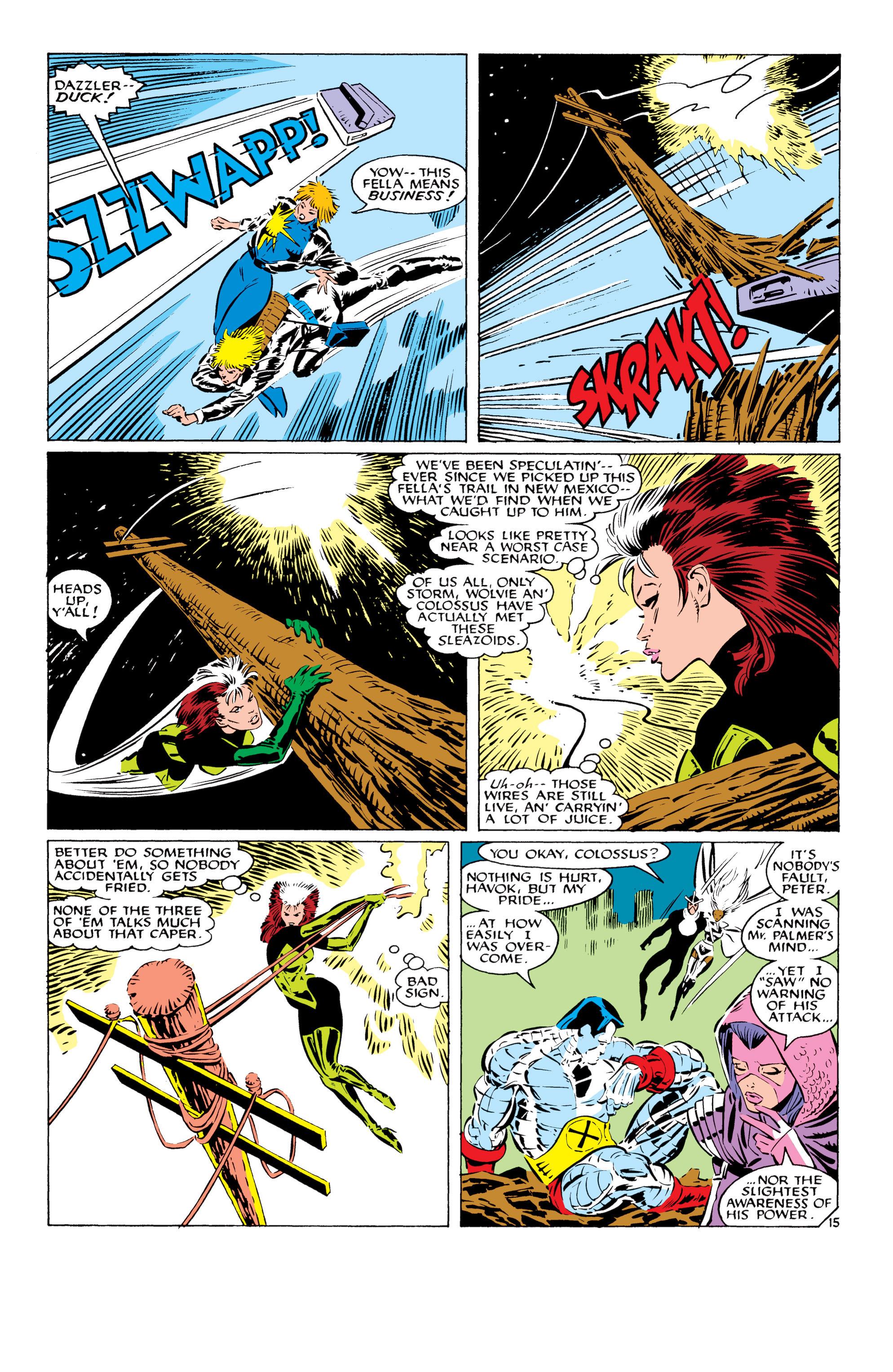 Read online Uncanny X-Men (1963) comic -  Issue #232 - 16