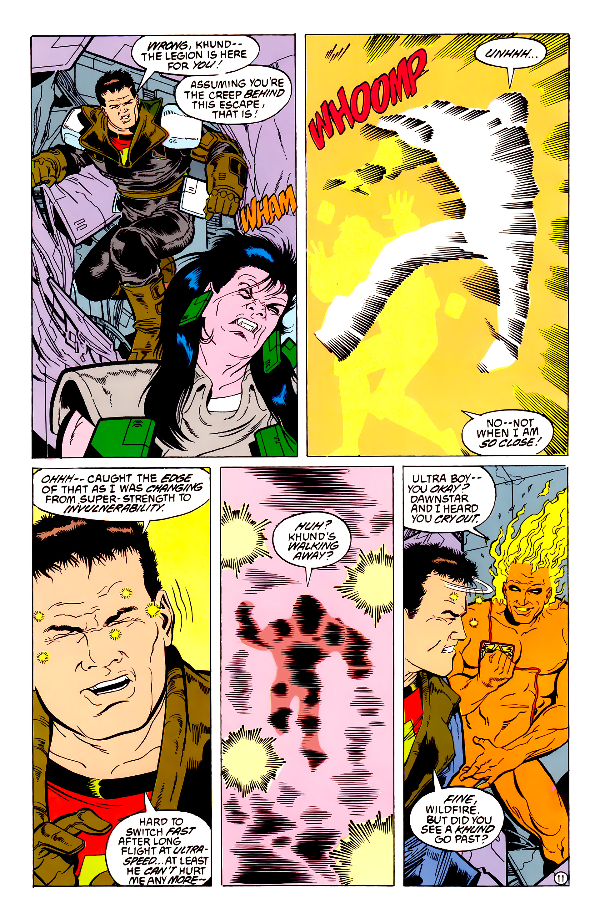 Legion of Super-Heroes (1984) 54 Page 11