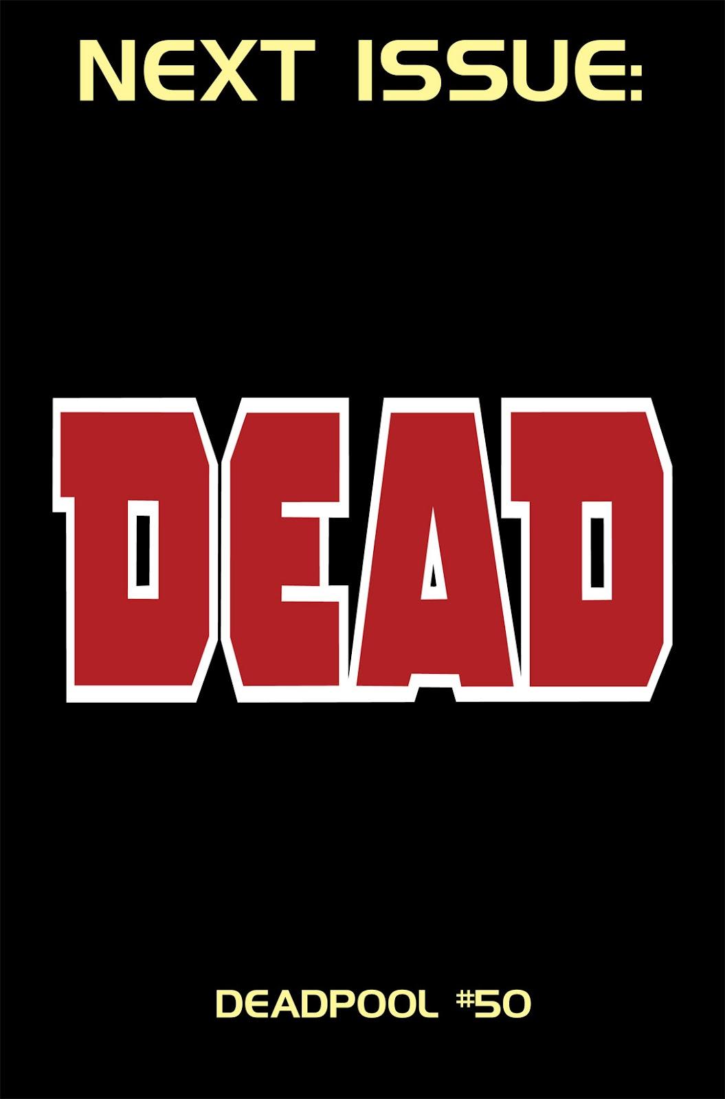 Read online Deadpool (2008) comic -  Issue #49.1 - 23