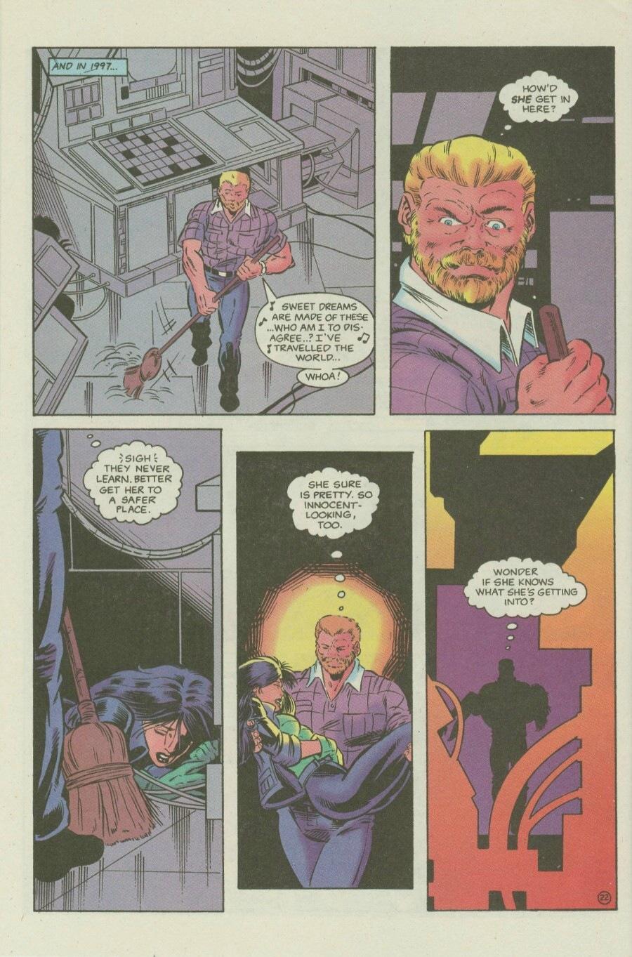 Read online Ex-Mutants comic -  Issue #6 - 28