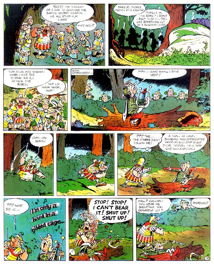 Read online Asterix comic -  Issue #4 - 7