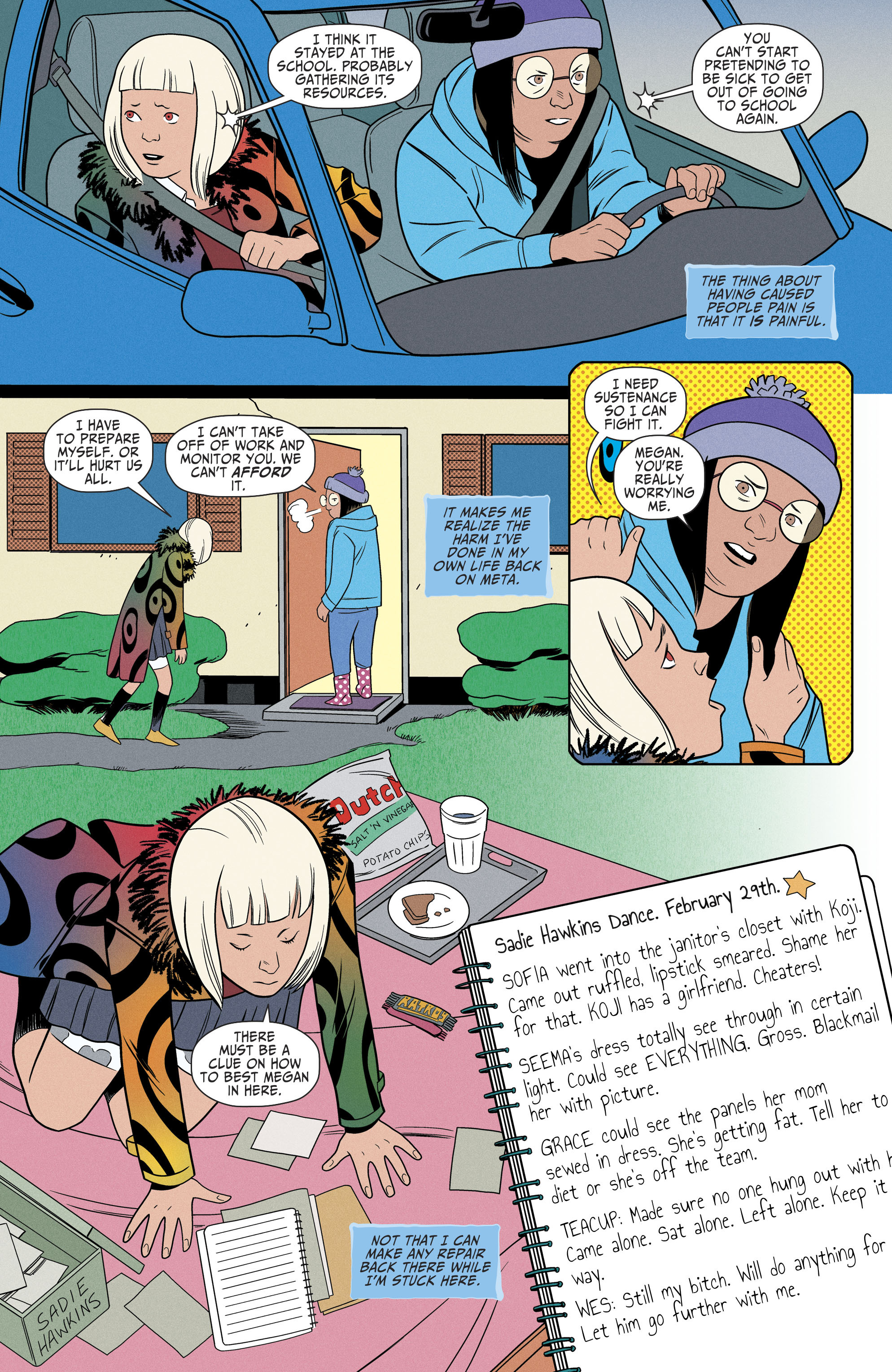 Read online Shade, the Changing Girl comic -  Issue #6 - 9