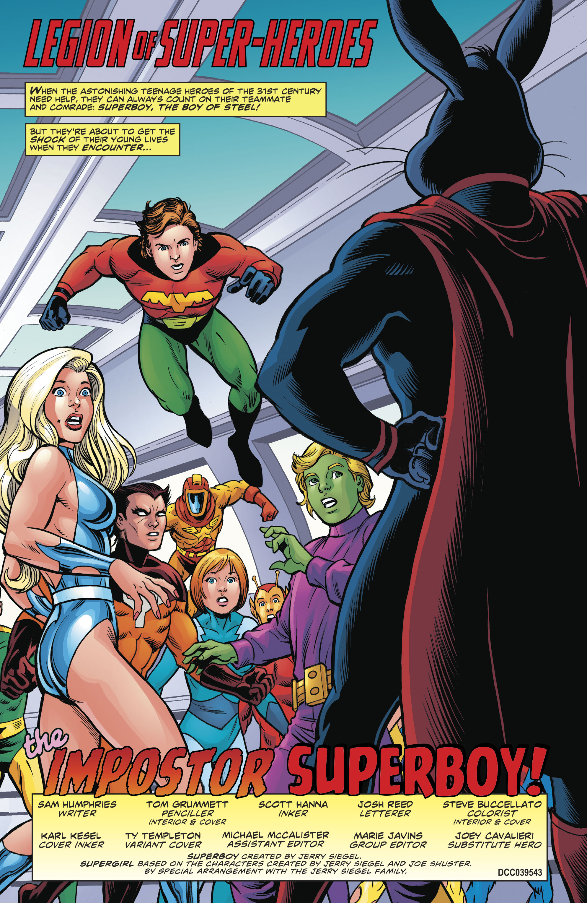 Read online Legion of Super-Heroes/Bugs Bunny Special comic -  Issue # Full - 4