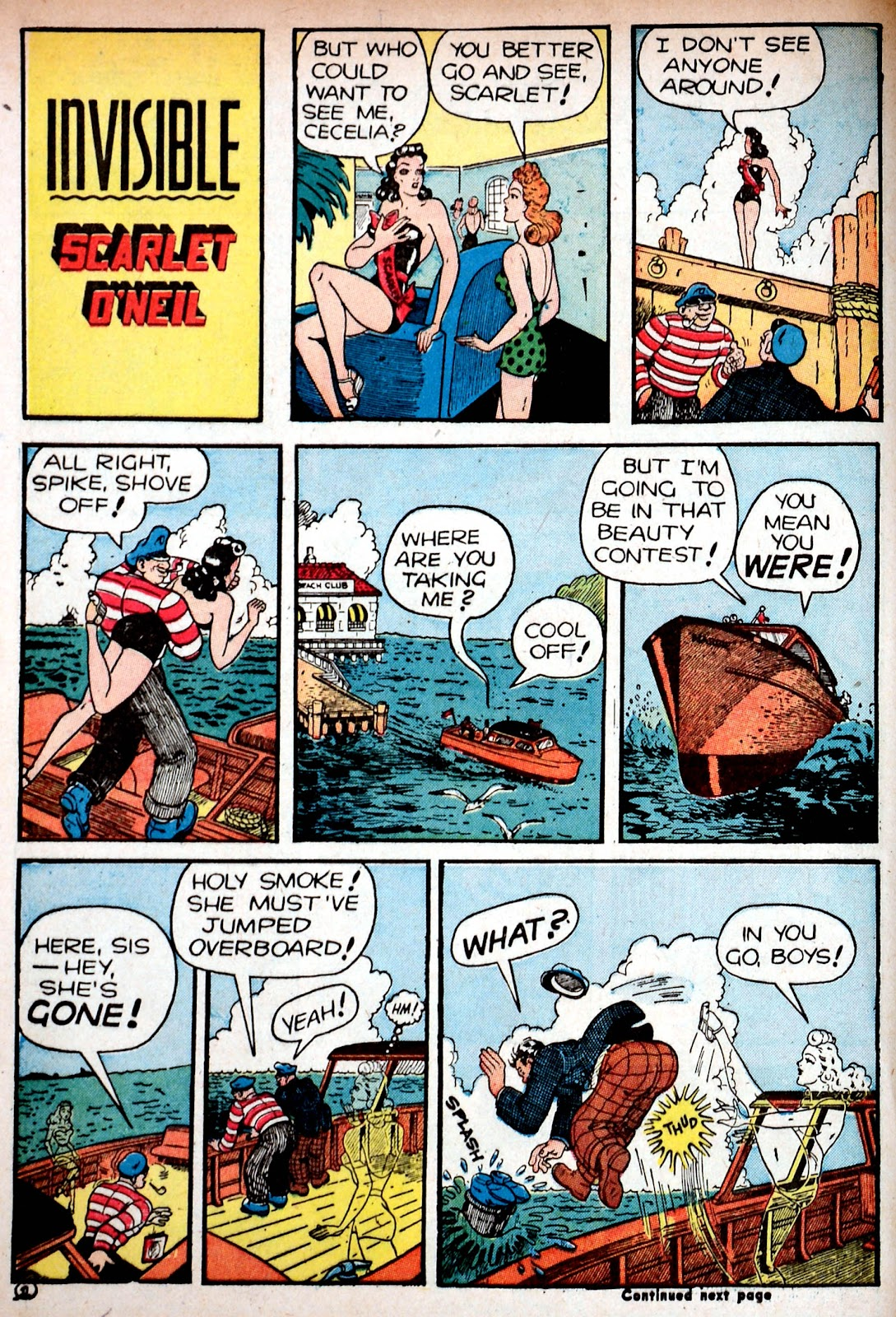 Read online Famous Funnies comic -  Issue #85 - 6