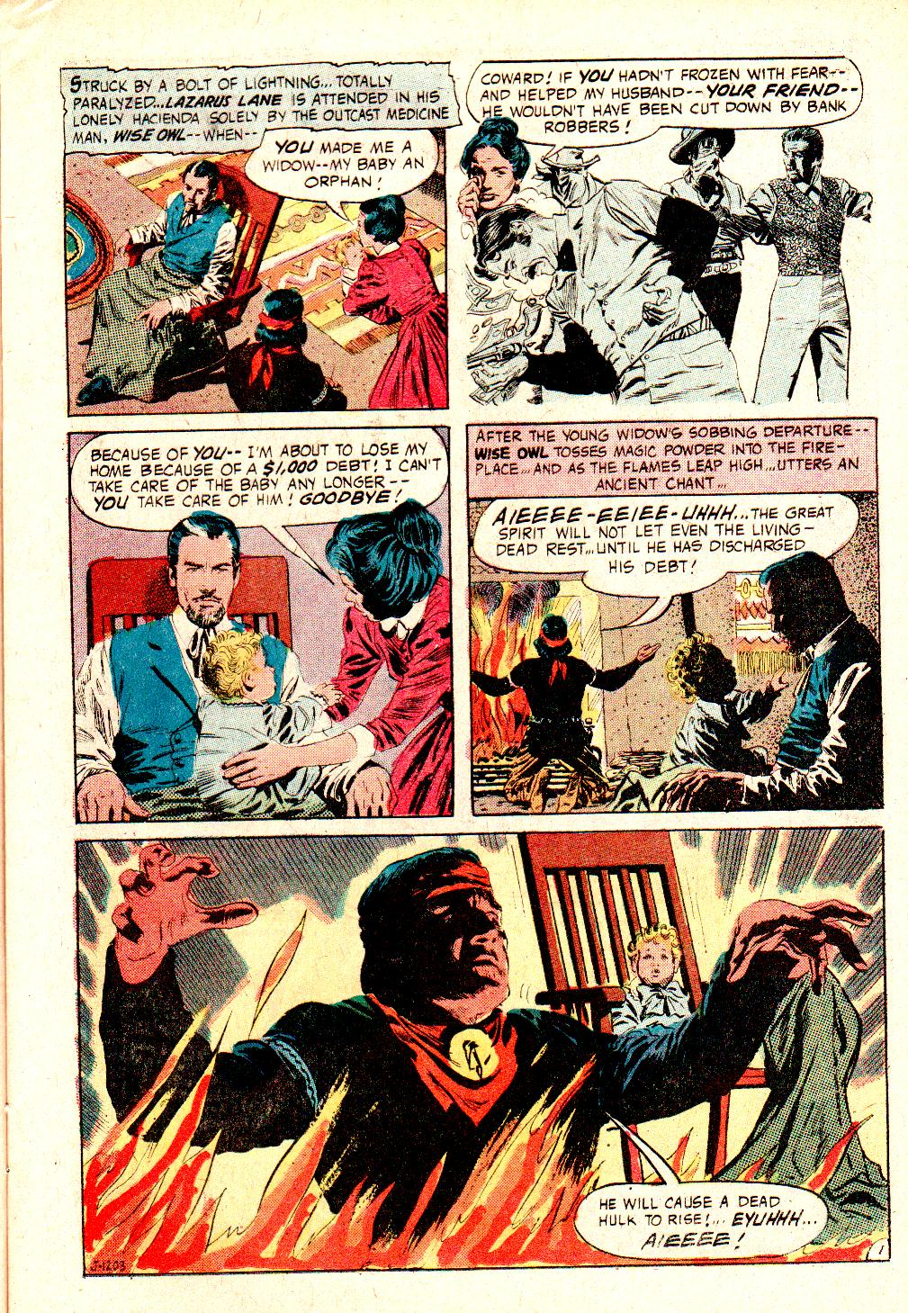 Read online All-Star Western (1970) comic -  Issue #10 - 21