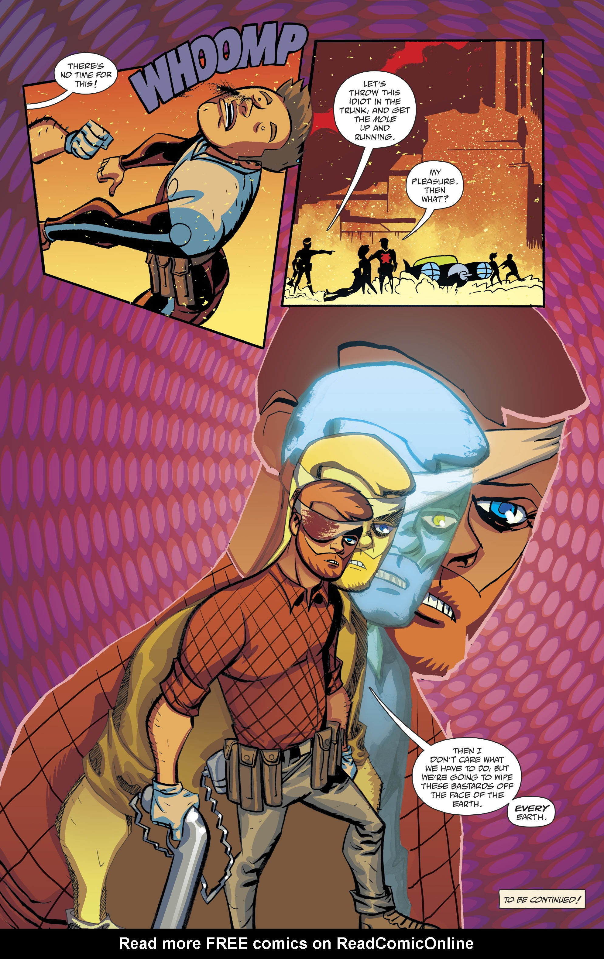 Read online Cave Carson Has a Cybernetic Eye comic -  Issue #8 - 24