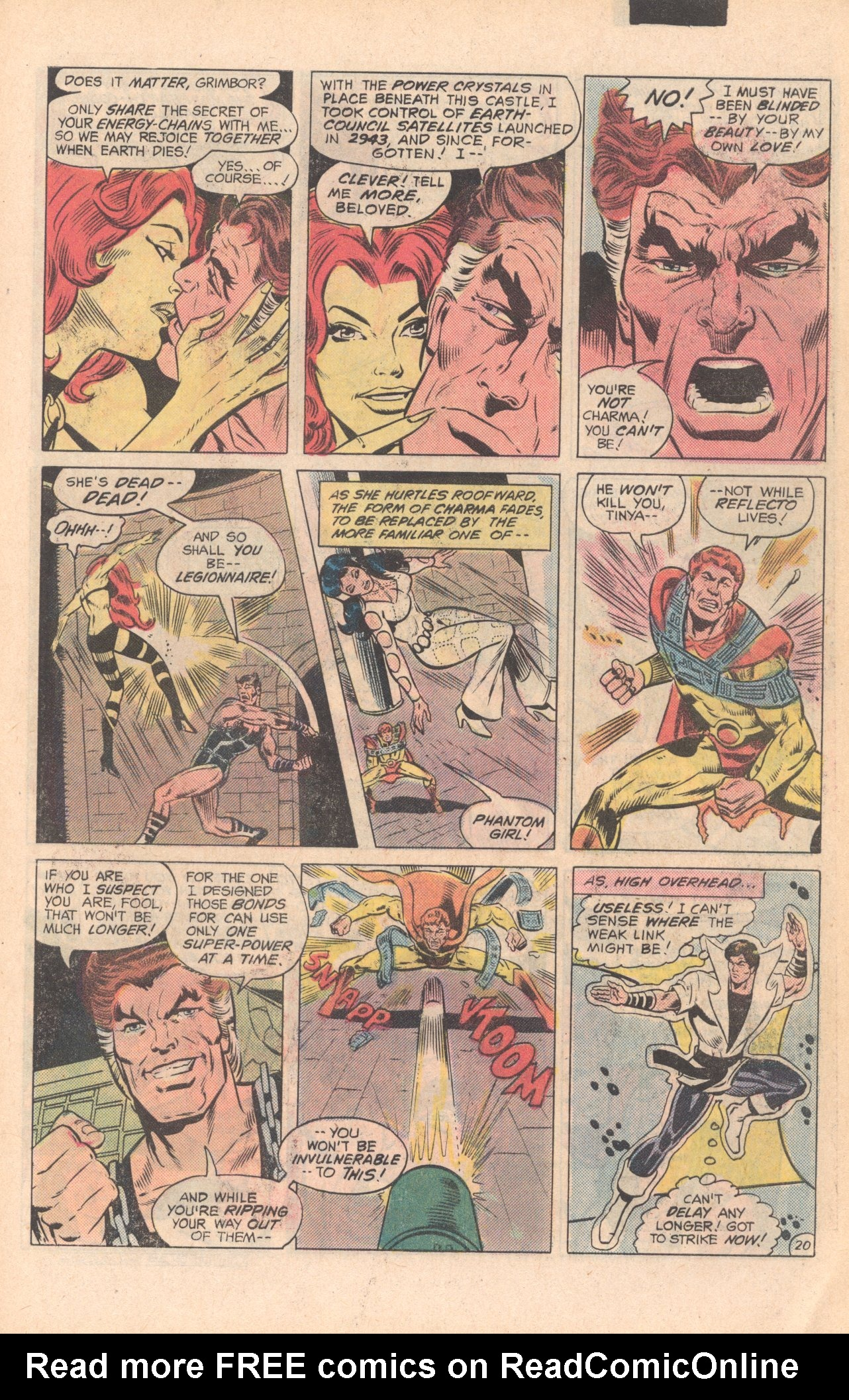 Legion of Super-Heroes (1980) 279 Page 20