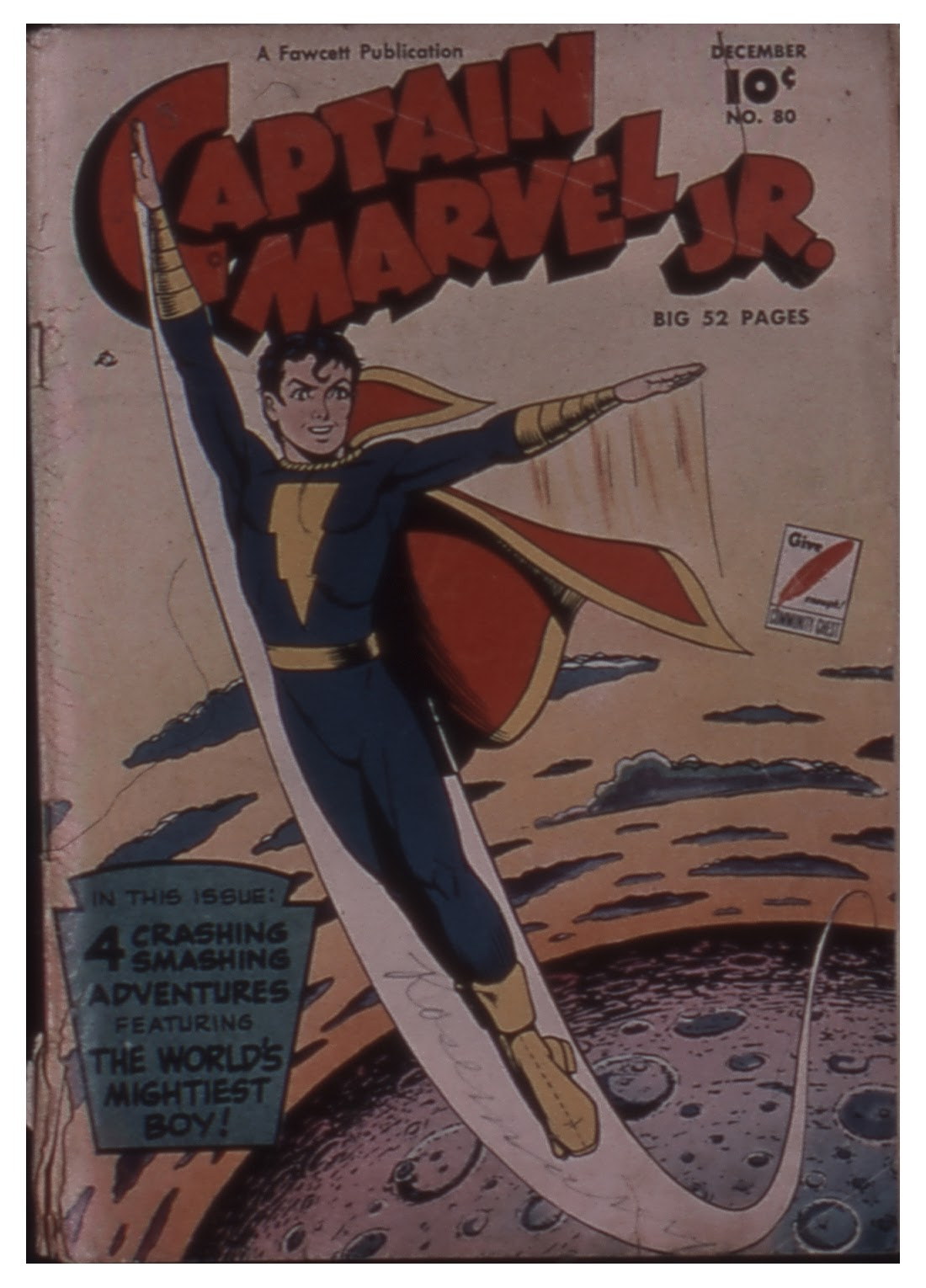 Captain Marvel, Jr. issue 80 - Page 1