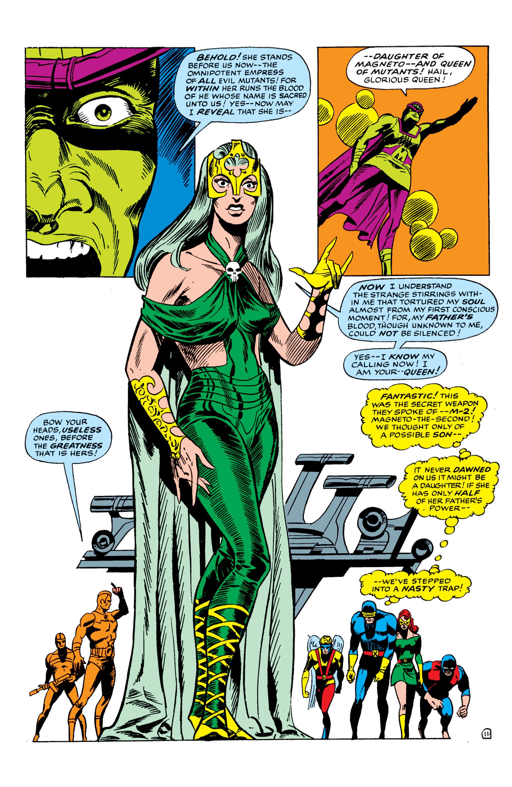 Read online Uncanny X-Men (1963) comic -  Issue #50 - 11
