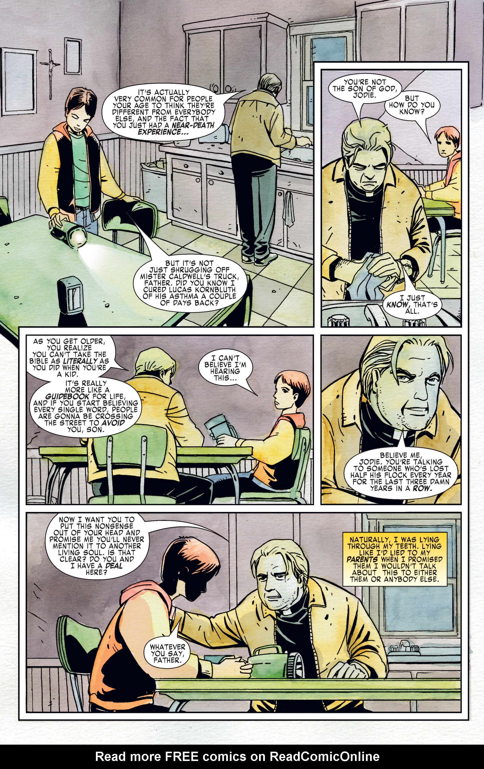 Read online American Jesus comic -  Issue # TPB - 34