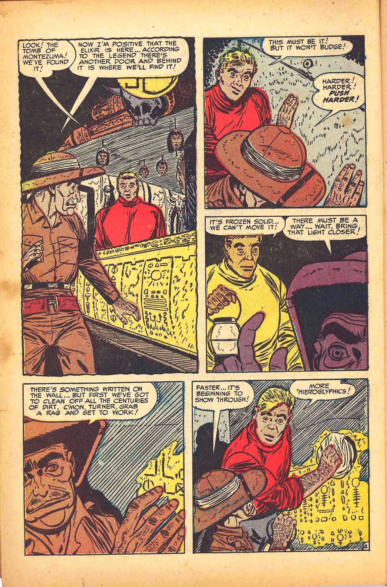 Weird Mysteries (1952) issue 6 - Page 4