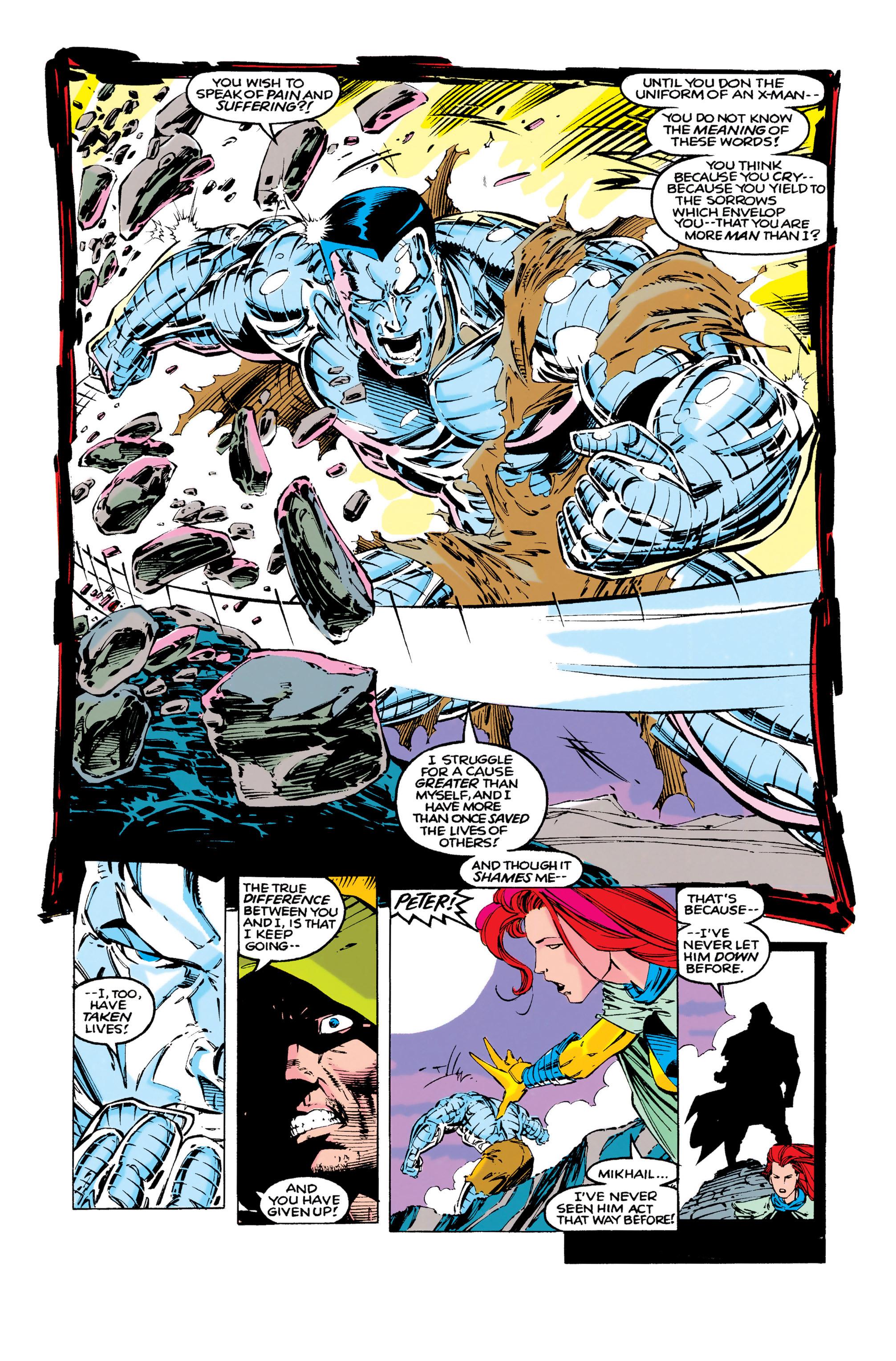 Read online Uncanny X-Men (1963) comic -  Issue #286 - 10