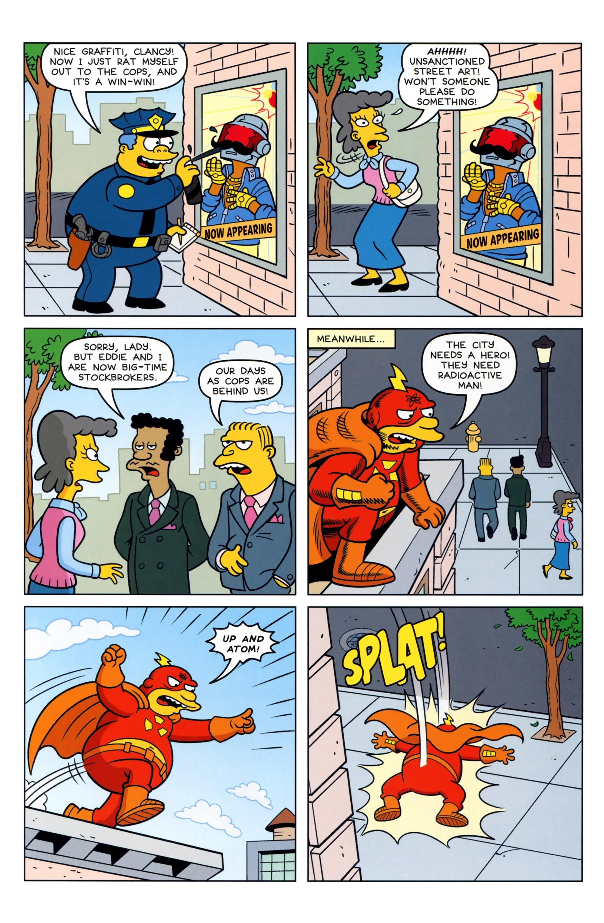 Read online Simpsons Comics comic -  Issue #223 - 19
