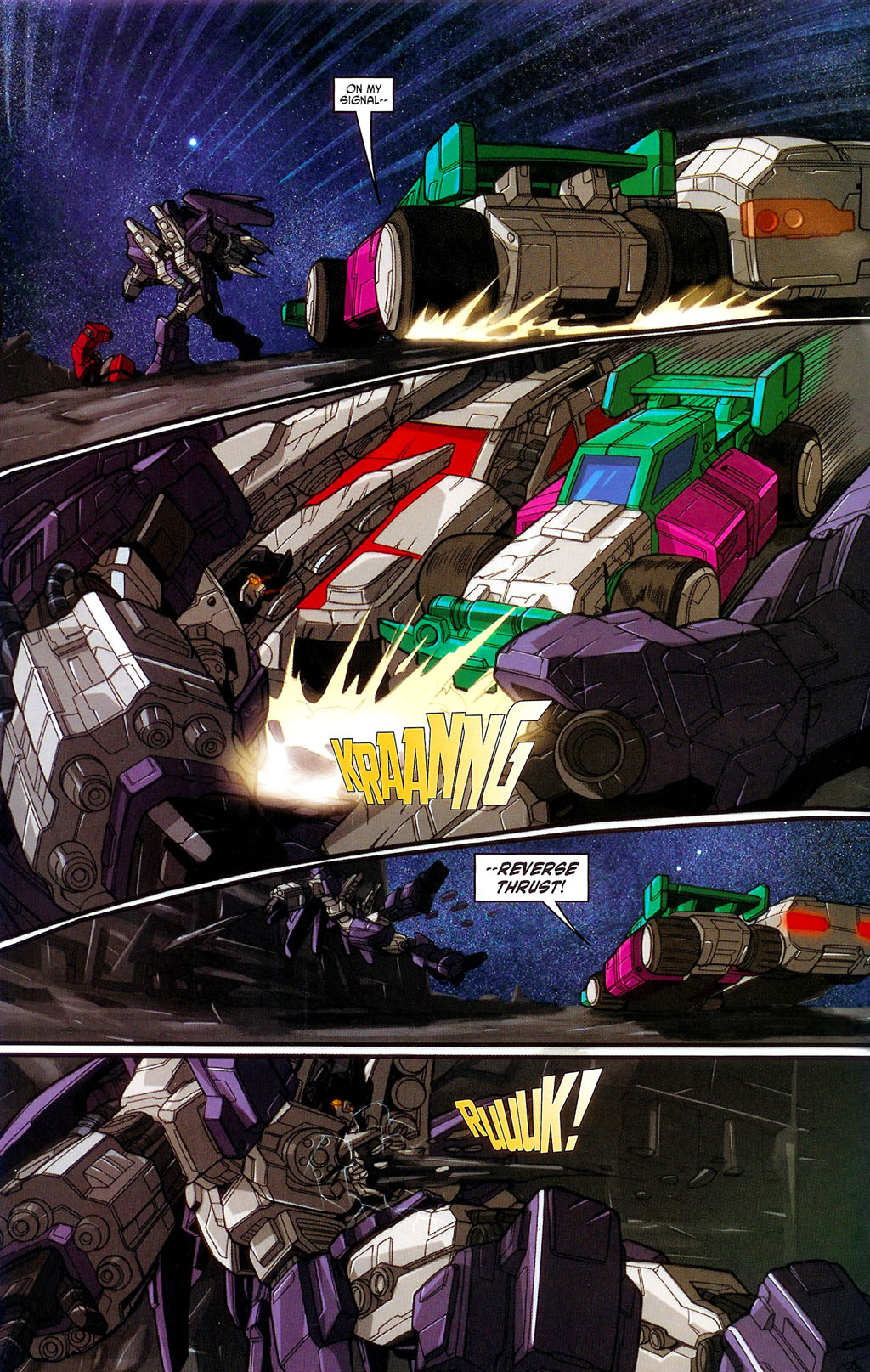 """Read online Transformers War Within: """"The Age of Wrath"""" comic -  Issue #3 - 16"""