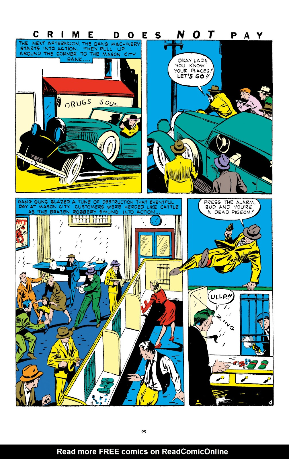 Read online Crime Does Not Pay Archives comic -  Issue # TPB 1 (Part 2) - 2